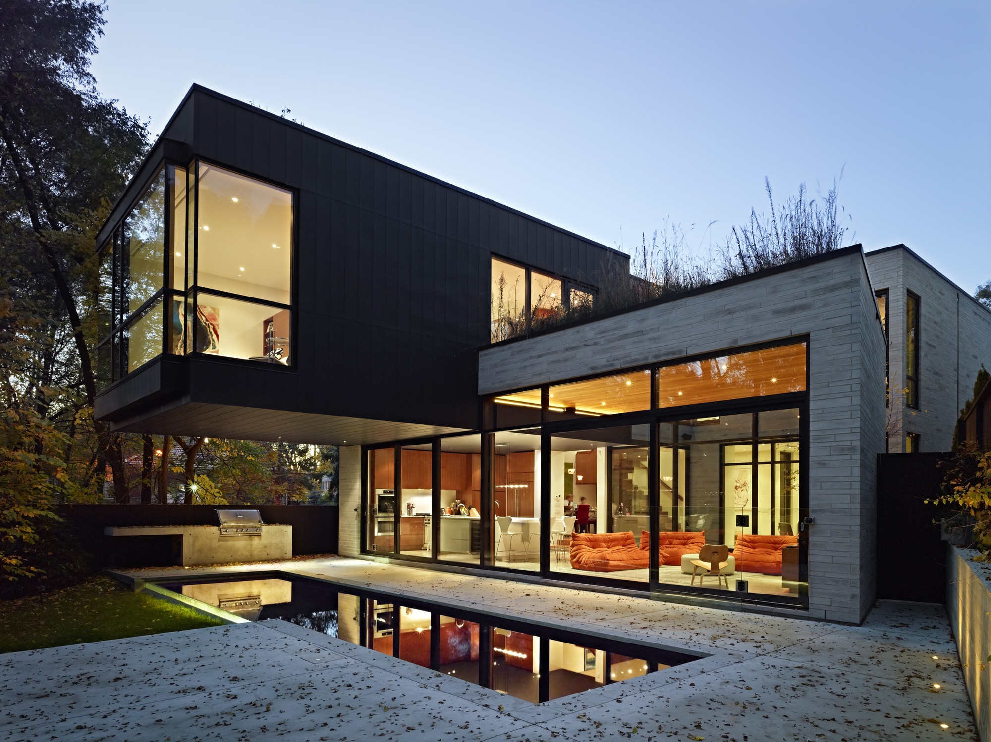 Cedarvale Ravine House  Drew Mandel Architects  ArchDaily