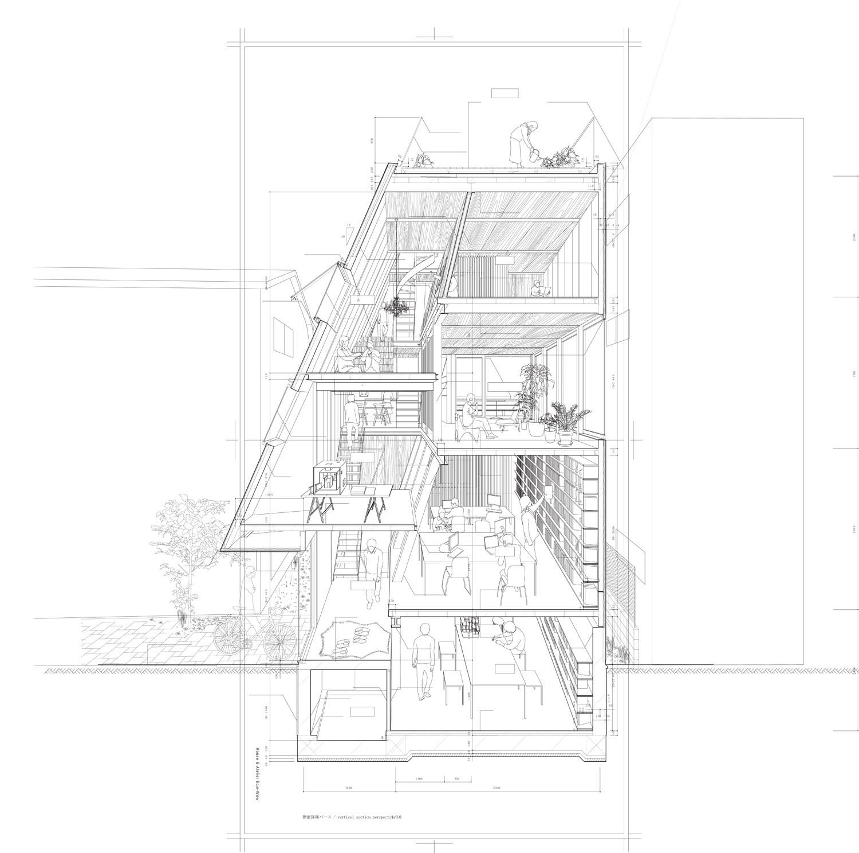 Casa y Atelier  Atelier BowWow  Plataforma Arquitectura