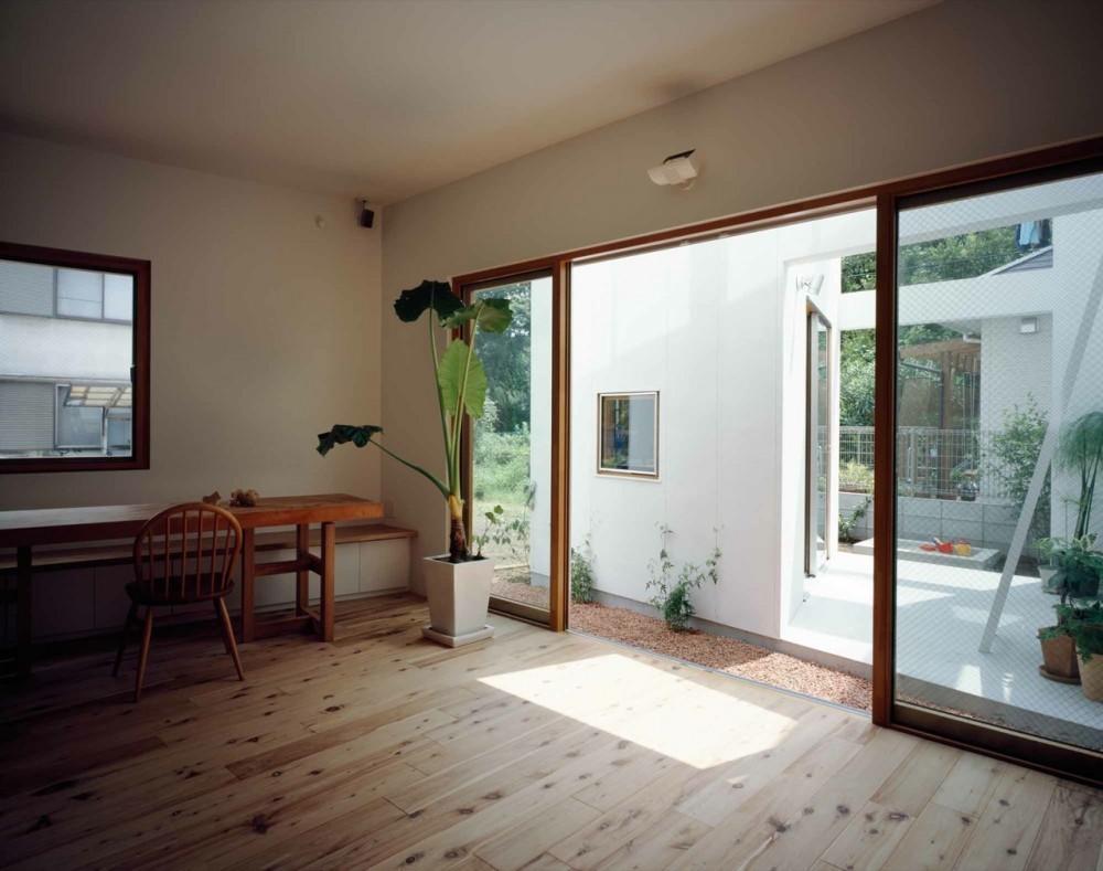 Galera de Casa Interior  Casa Exterior  Takeshi Hosaka