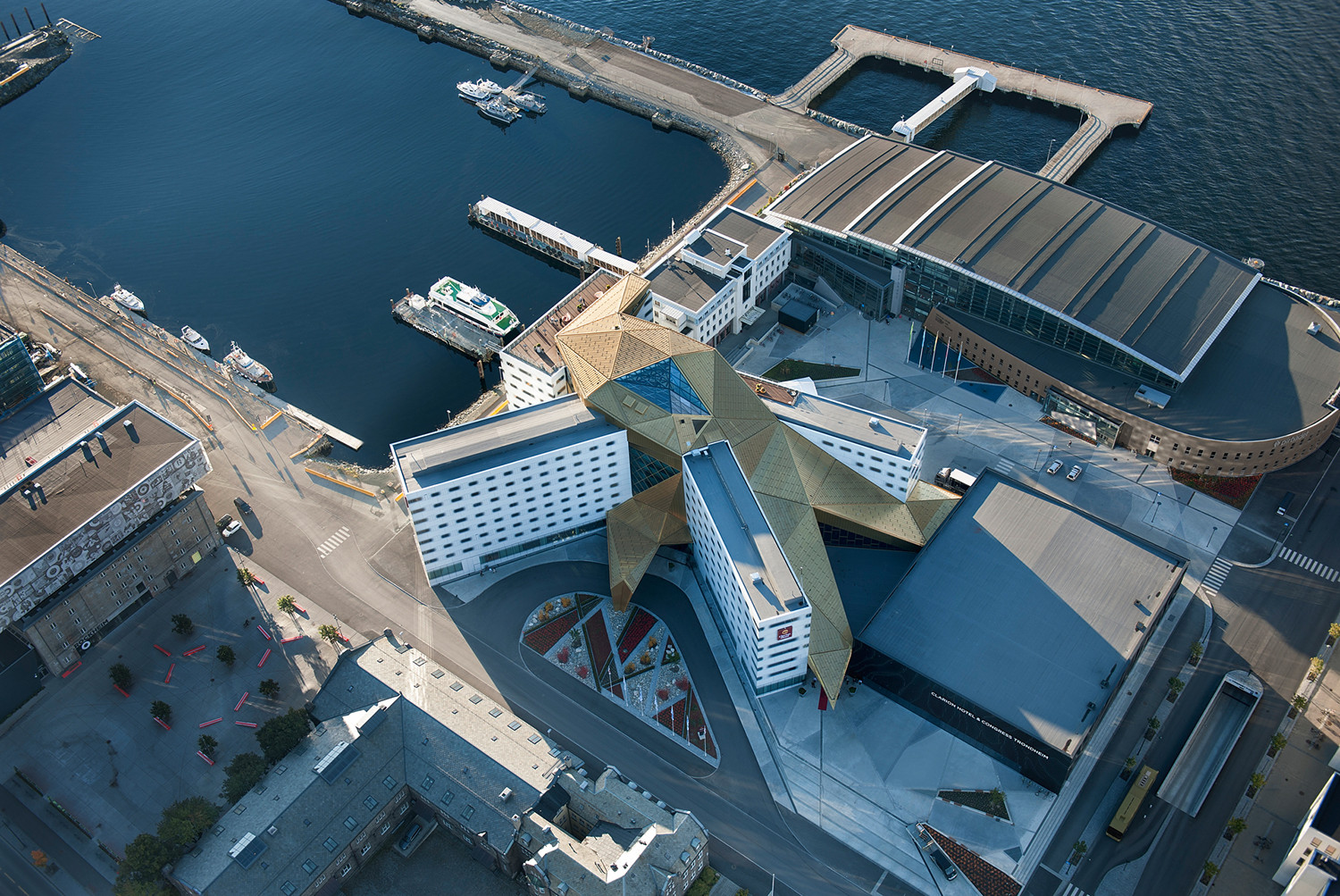 Clarion Hotel & Congress Trondheim Space Group Archdaily