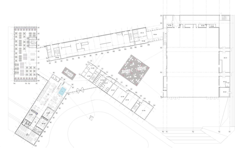 clarion hotel congress trondheim plan [ 1500 x 946 Pixel ]