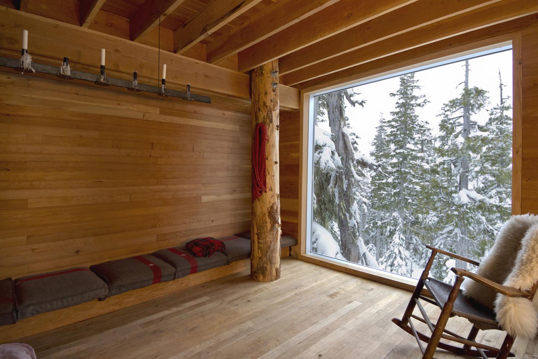 Alpine Cabin Scott & Architects Archdaily