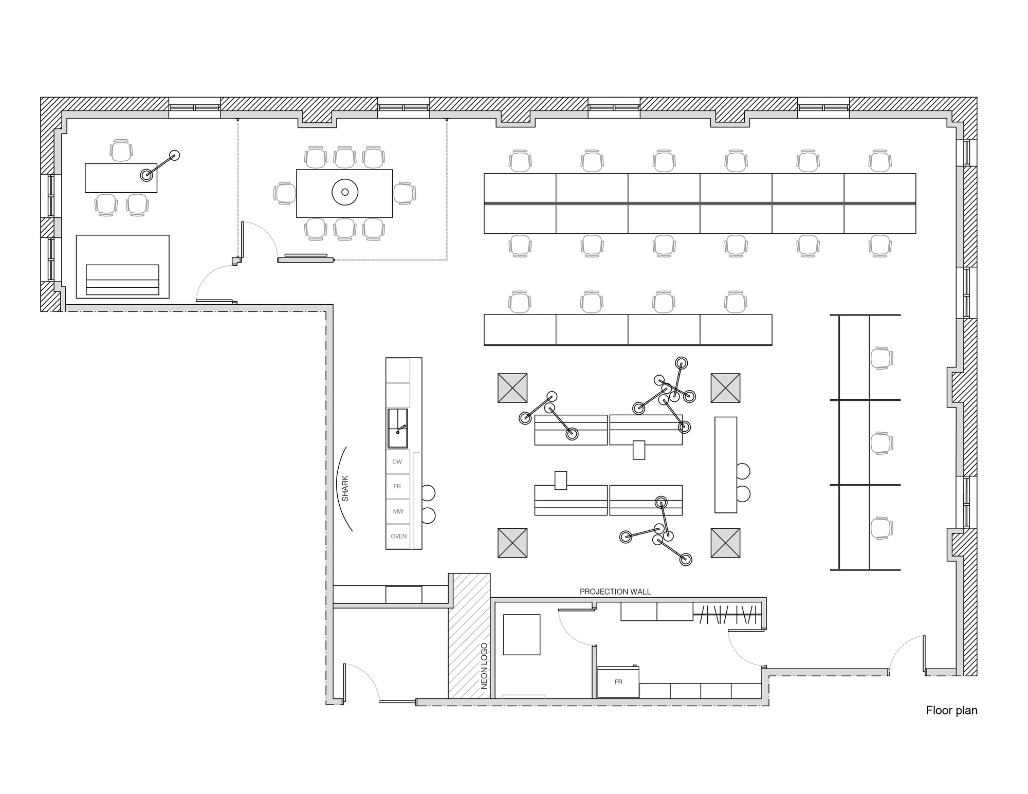small resolution of blue communication office plan