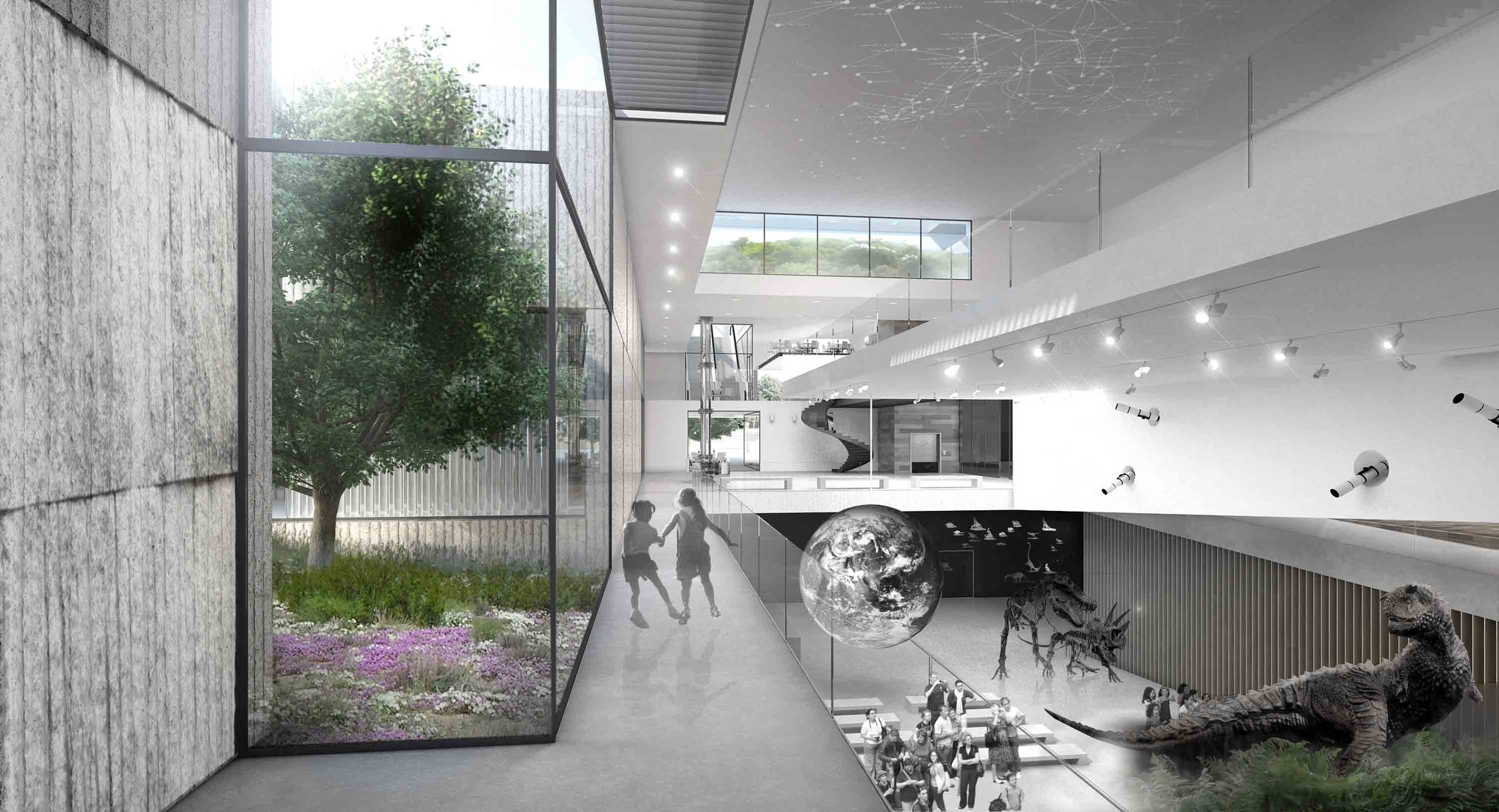 Museum Of Nature And Science Winning Proposal Schwartz