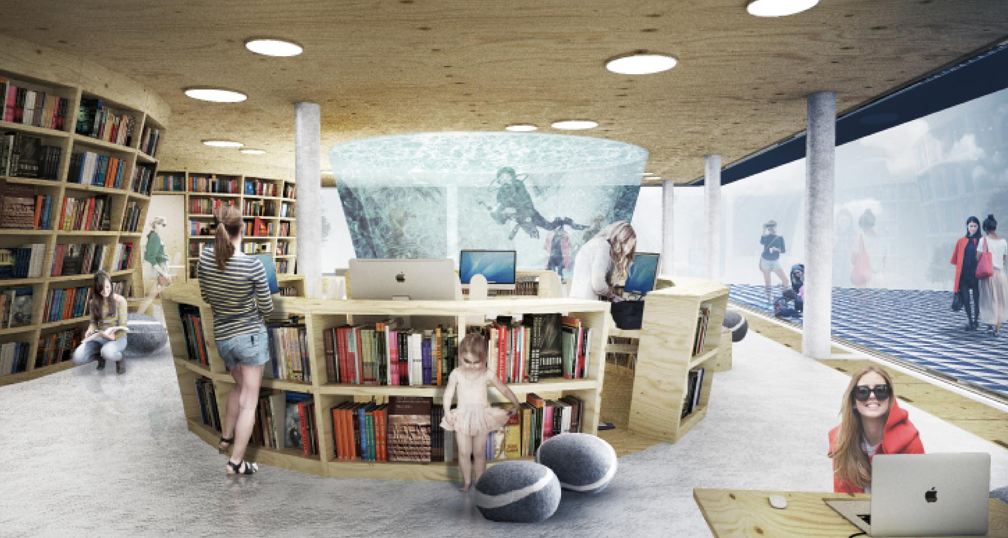Culture Island Public Library Proposal Ugo