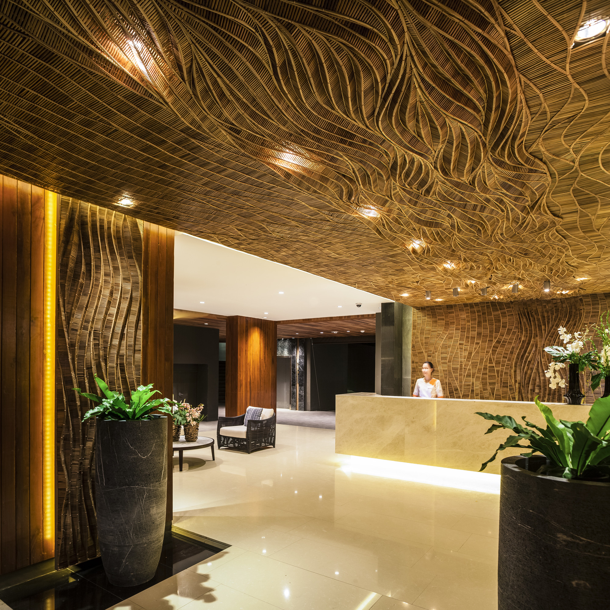 Thailand Spas Lobby Interior Design