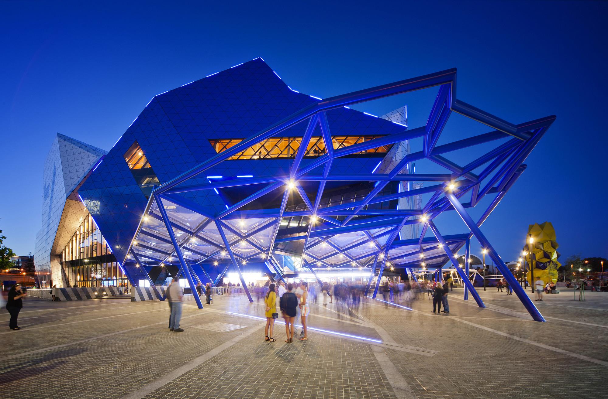 Perth Arena Arm Architecture Ccn Archdaily