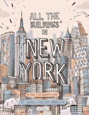 york buildings hand drawn