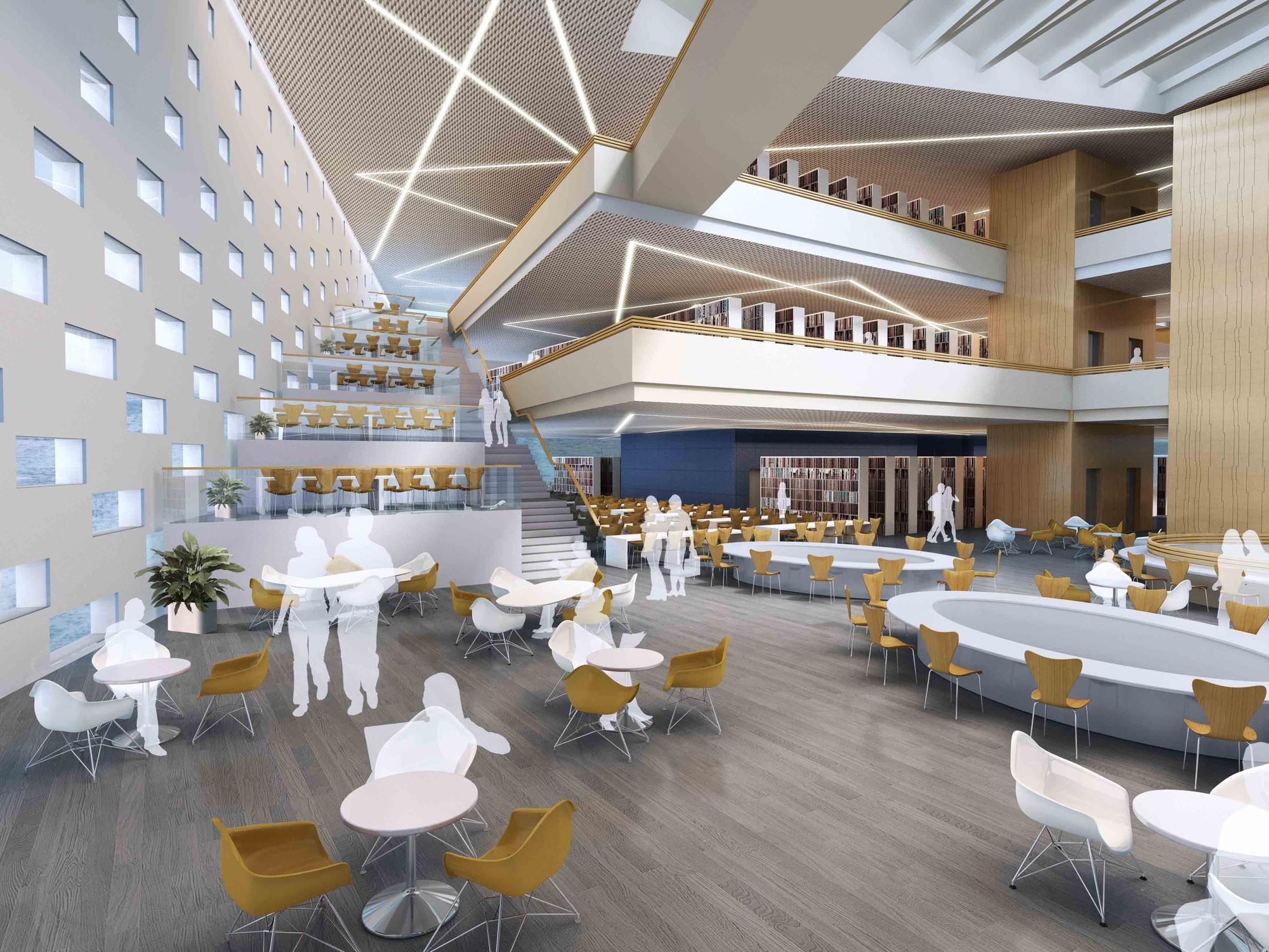 University Library Interior Design
