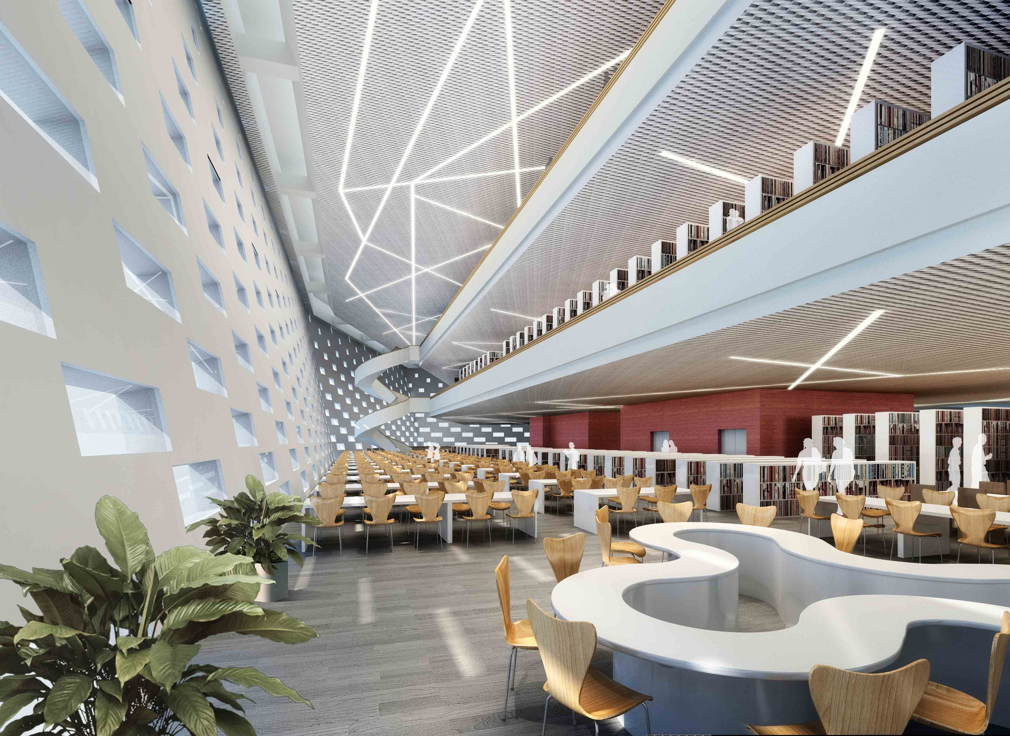 Research University Library Design