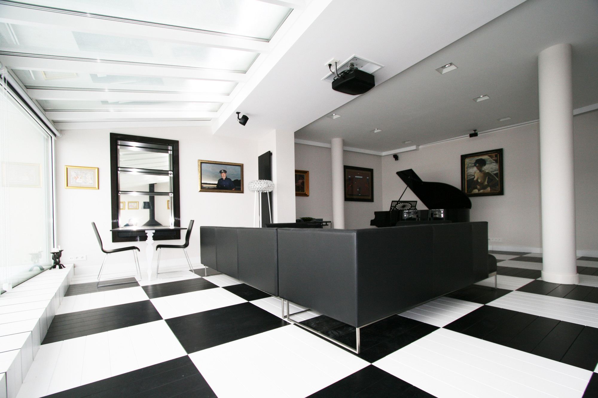 Black And White Office TOYA Design ArchDaily