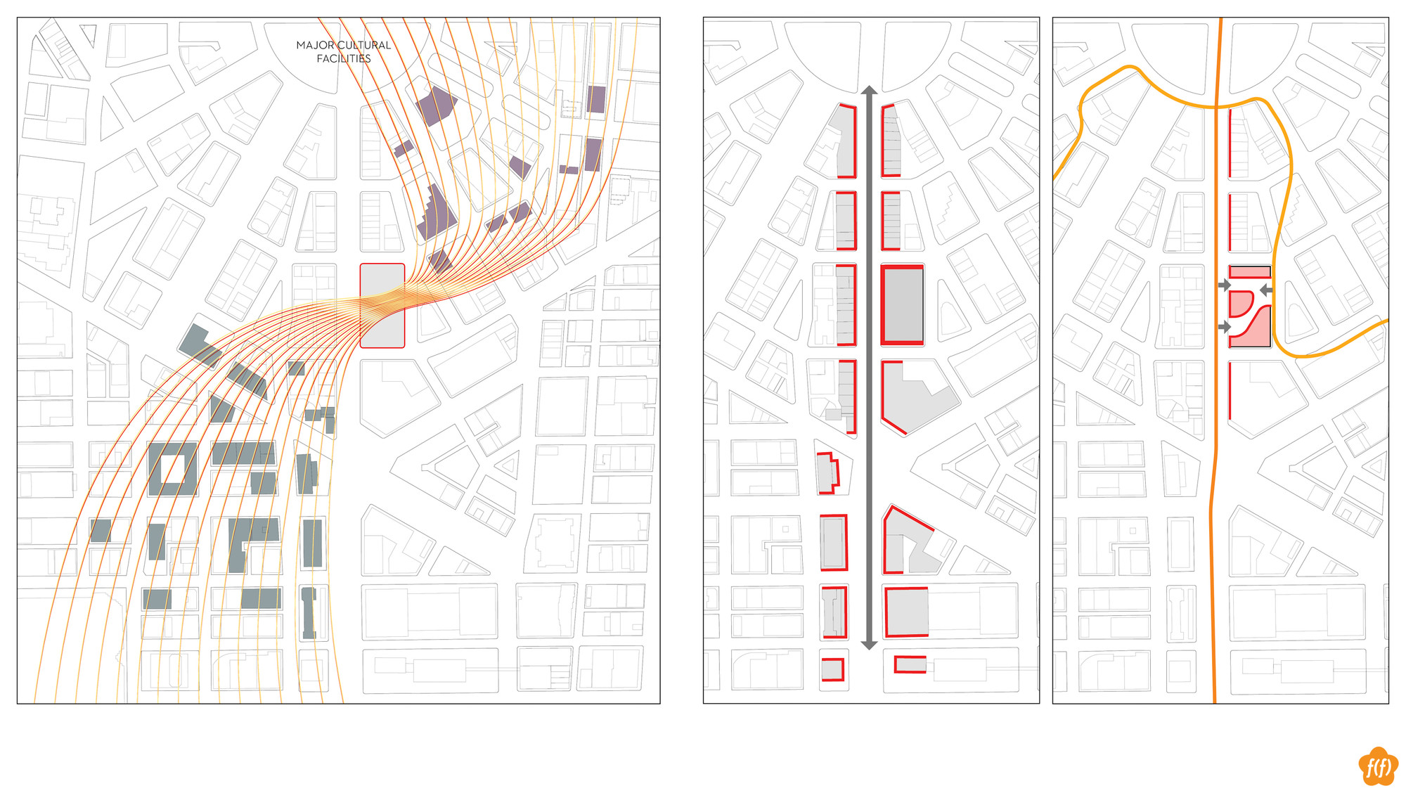 medium resolution of  redesigning detroit a new vision for an iconic site competition entry plan