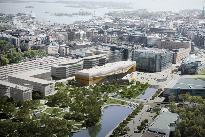 Helsinki Central Library Winning Proposal Ala Architects Archdaily