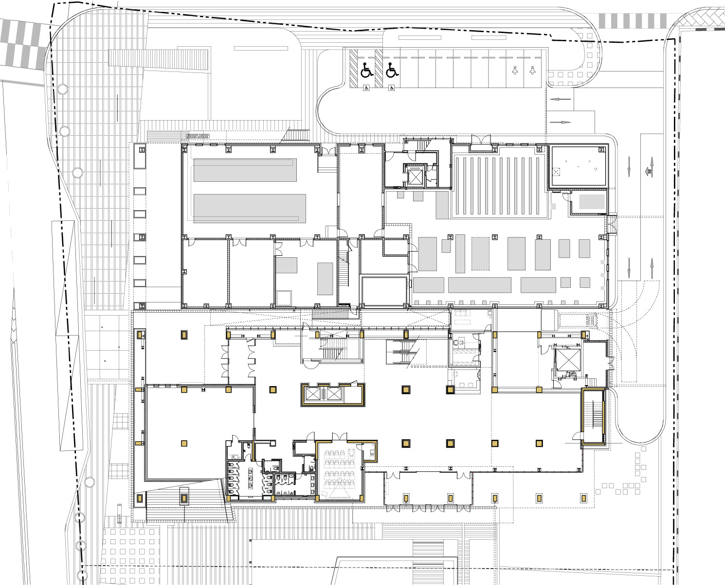 hight resolution of national museum of korean contemporary history junglim architecture