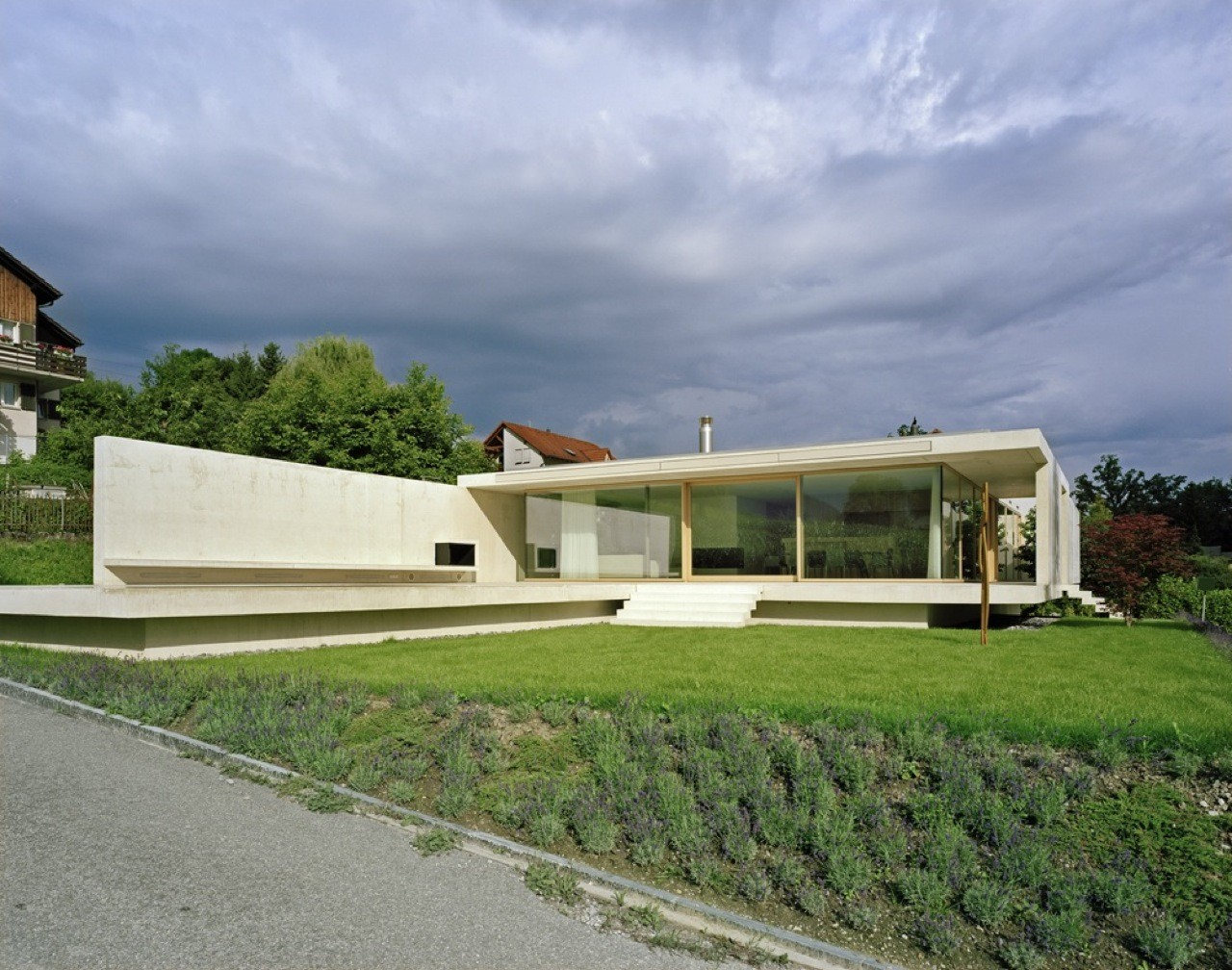 House At Zimmerberg Bottom / Rossetti + Wyss Architekten