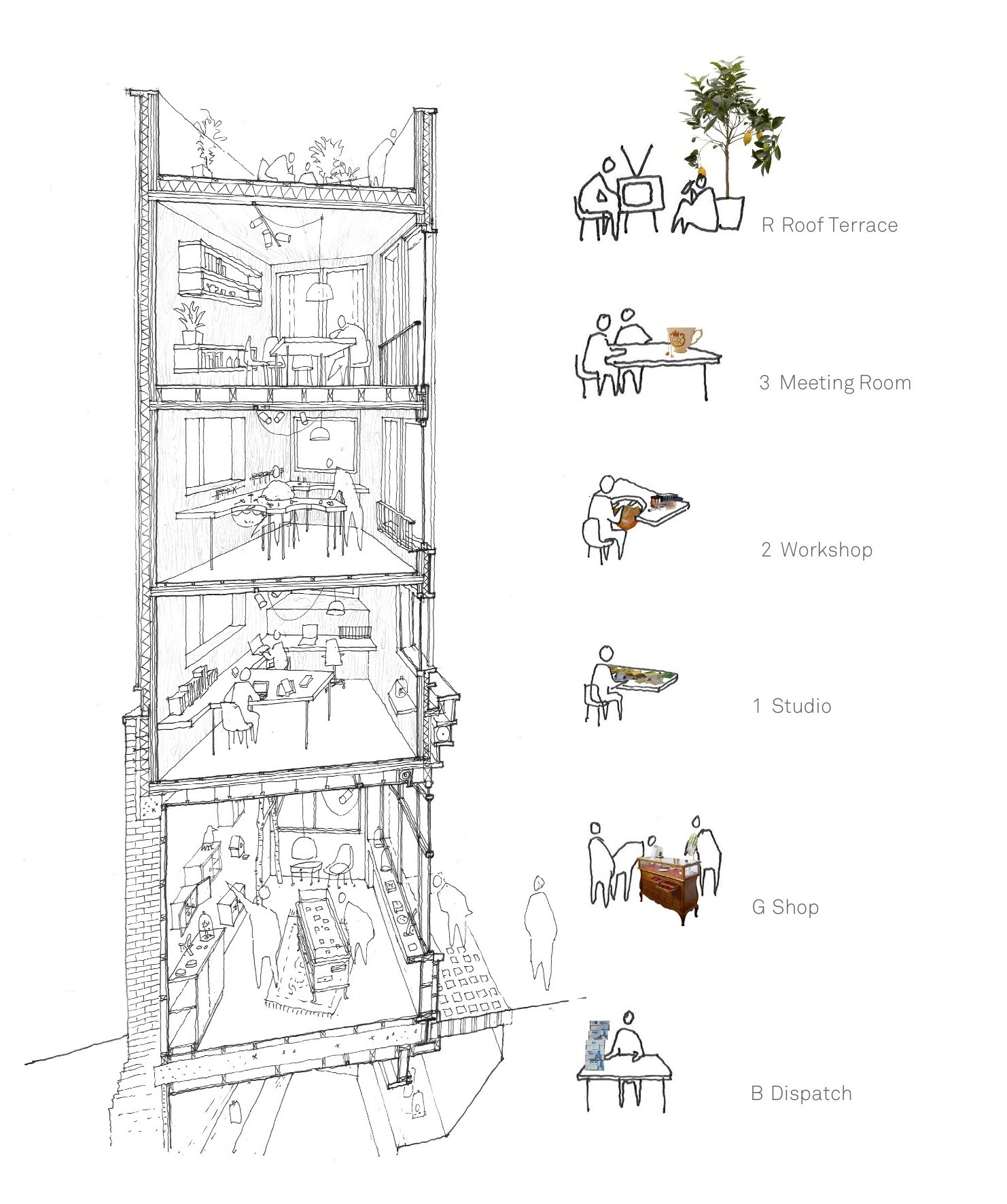 architecture section diagram on switch bilge gallery of alex monroe studio dsdha 9