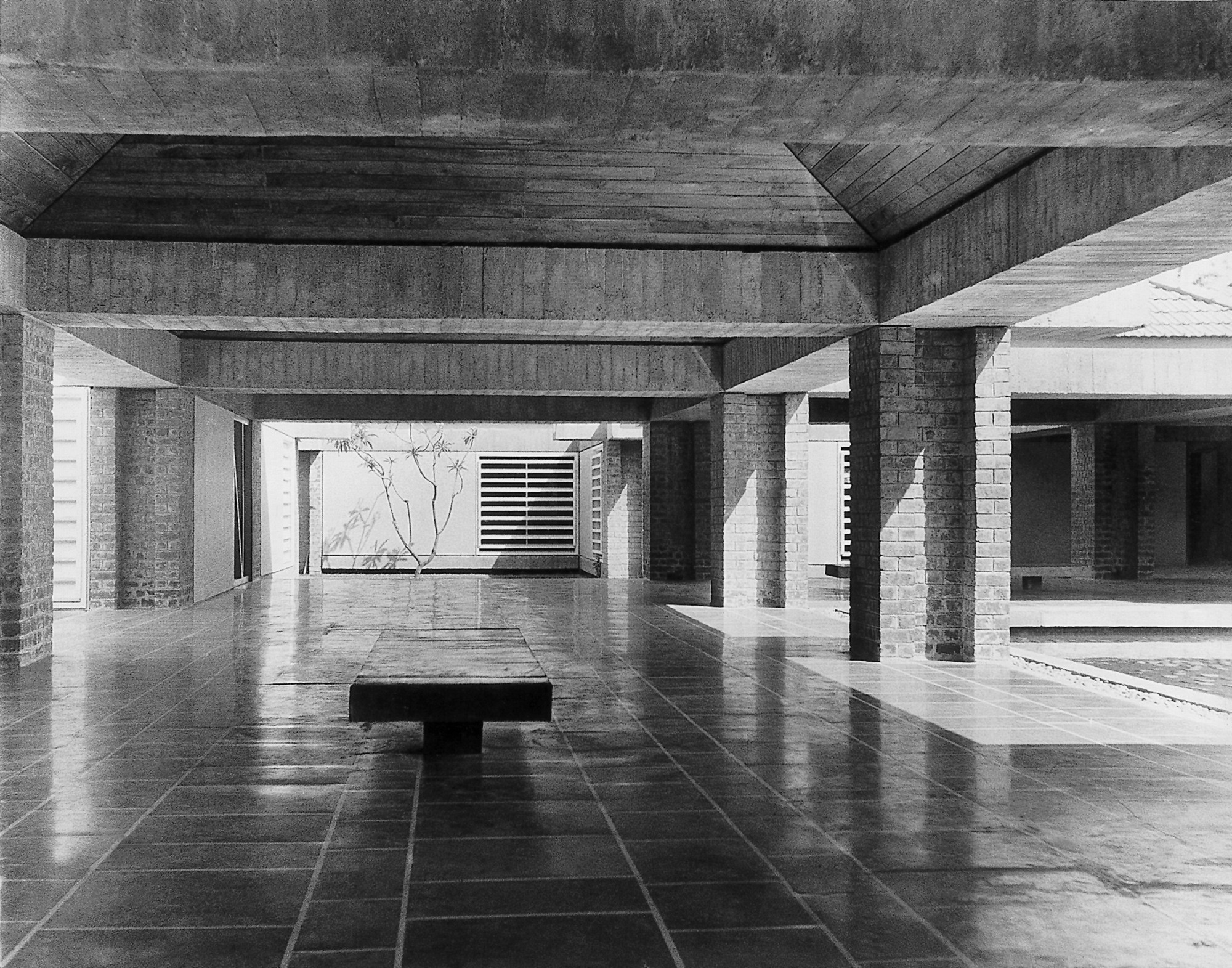 Uncube Interviews Charles Correa Archdaily
