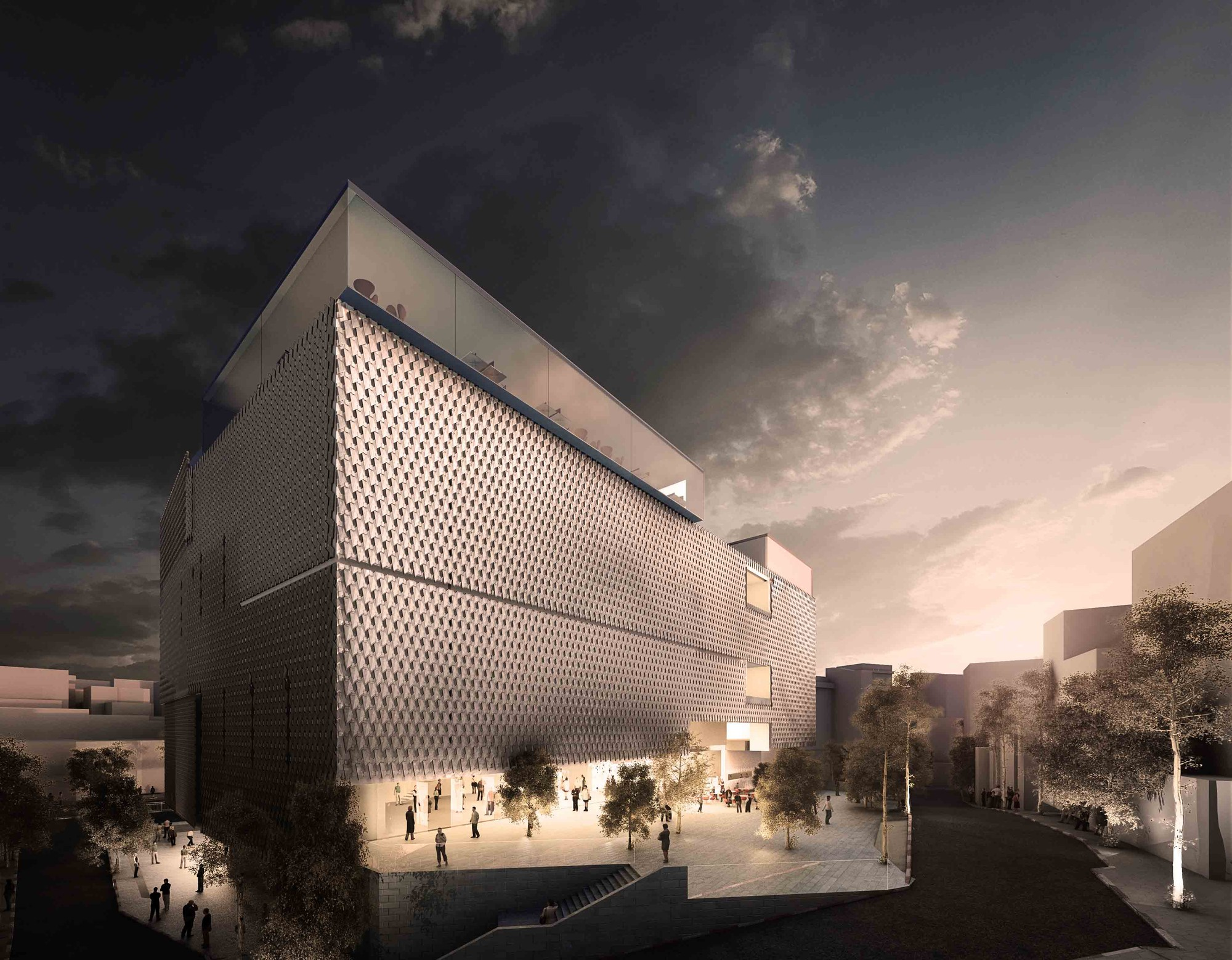 Ko Contemporary Art Museum Winning Proposal Grimshaw
