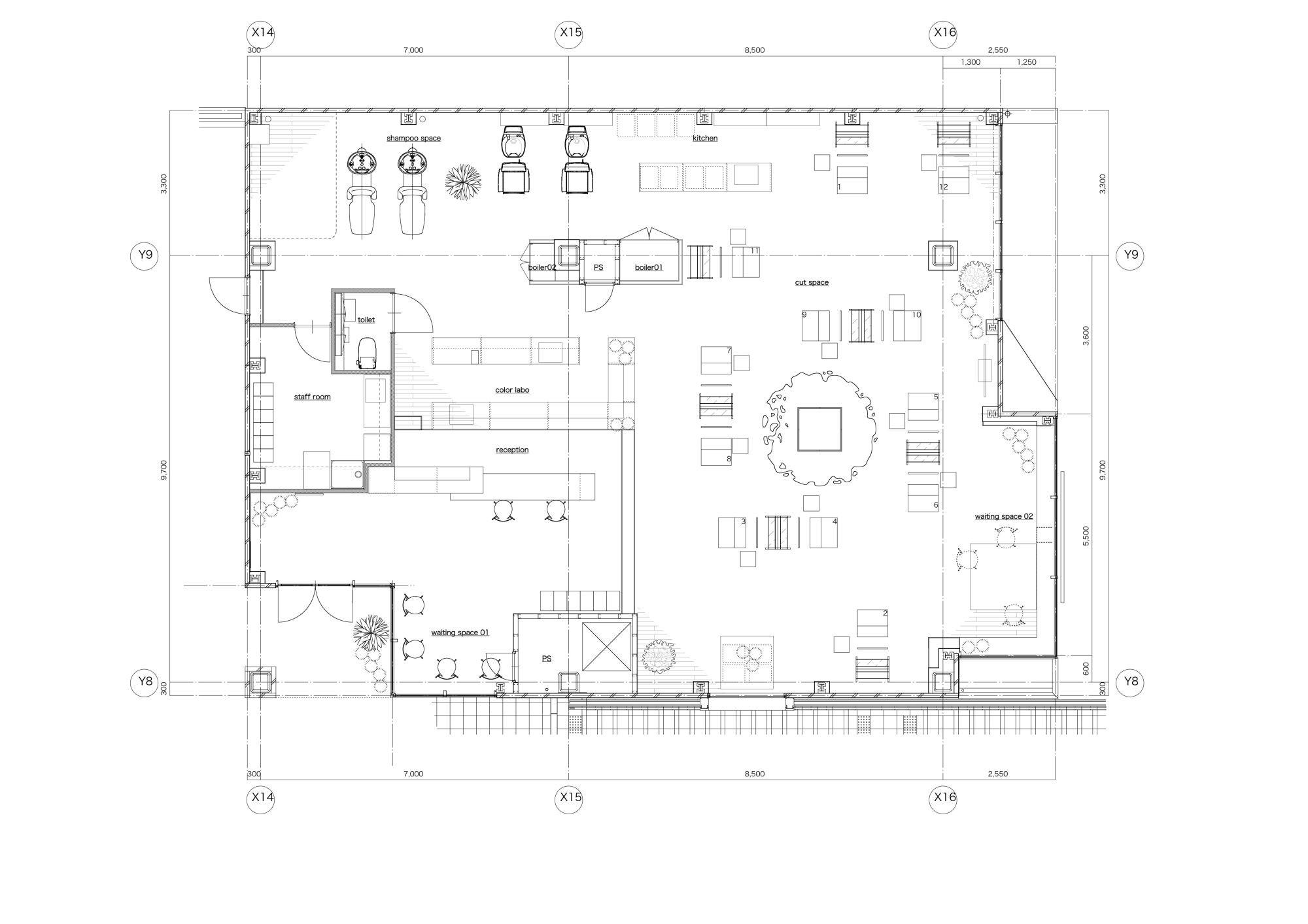 Rmmv Coffee House Interior Tileset 0 8: Small Barber Shop Floor Plans