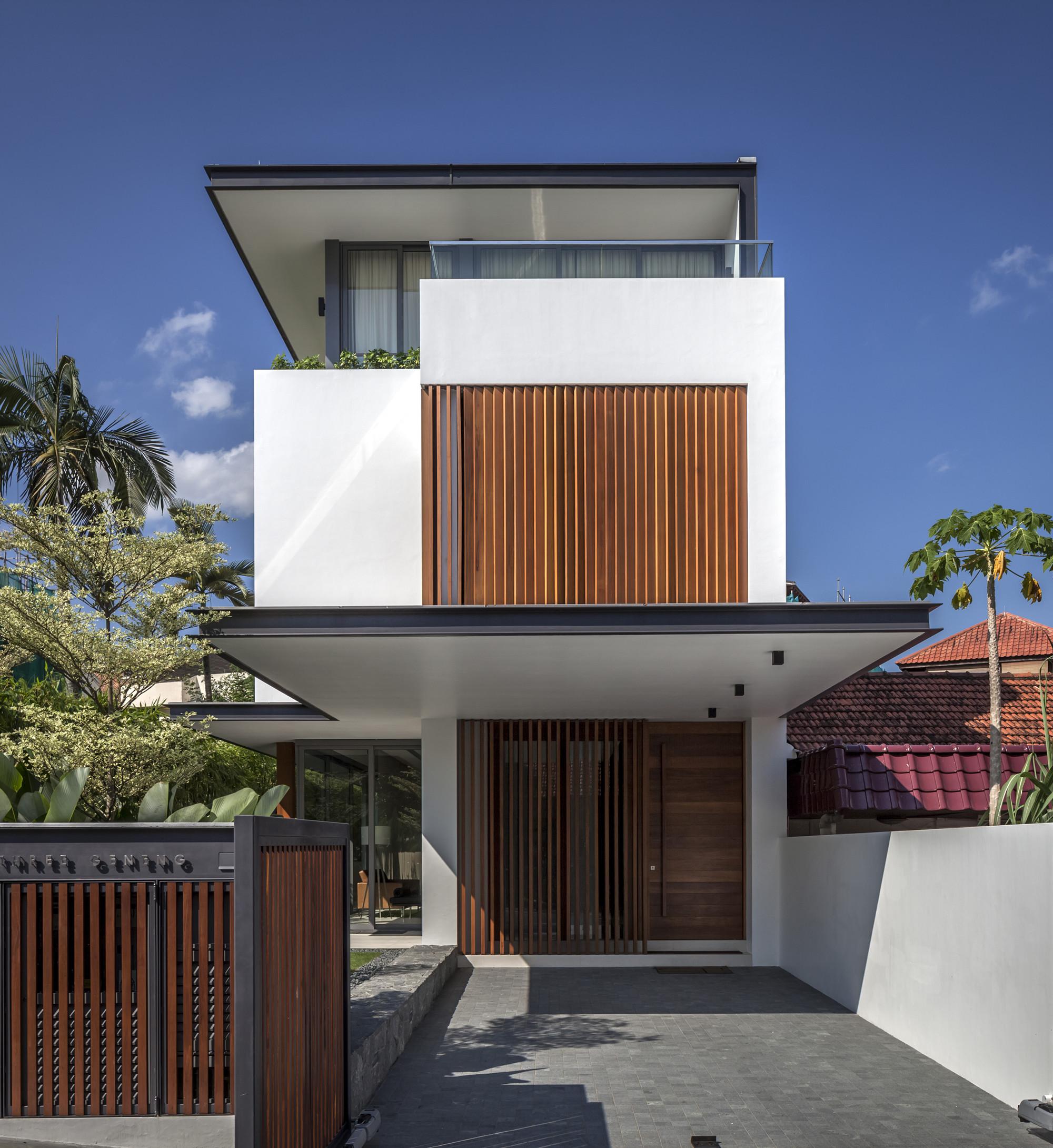 Sunny Side House Wallflower Architecture Design