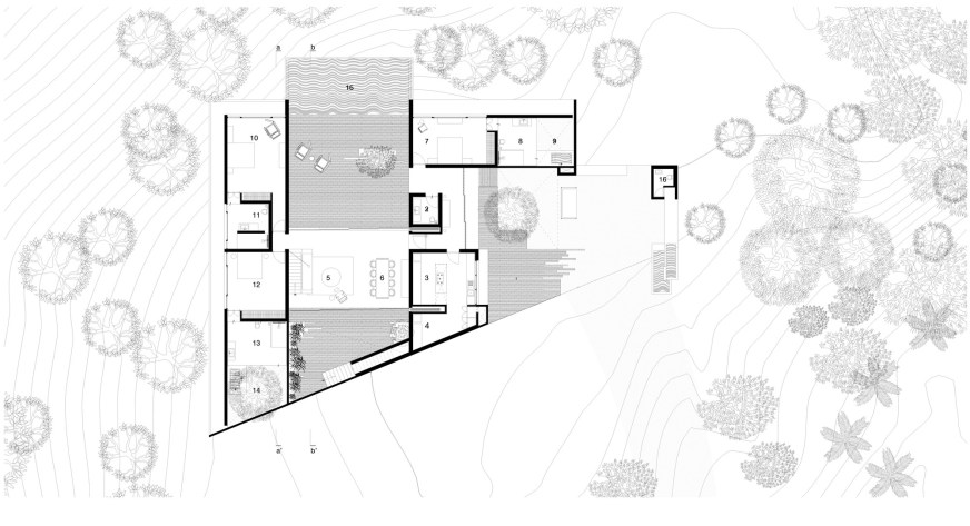 Gallery Of The House Cast In Liquid Stone Spasm Design Architects 32