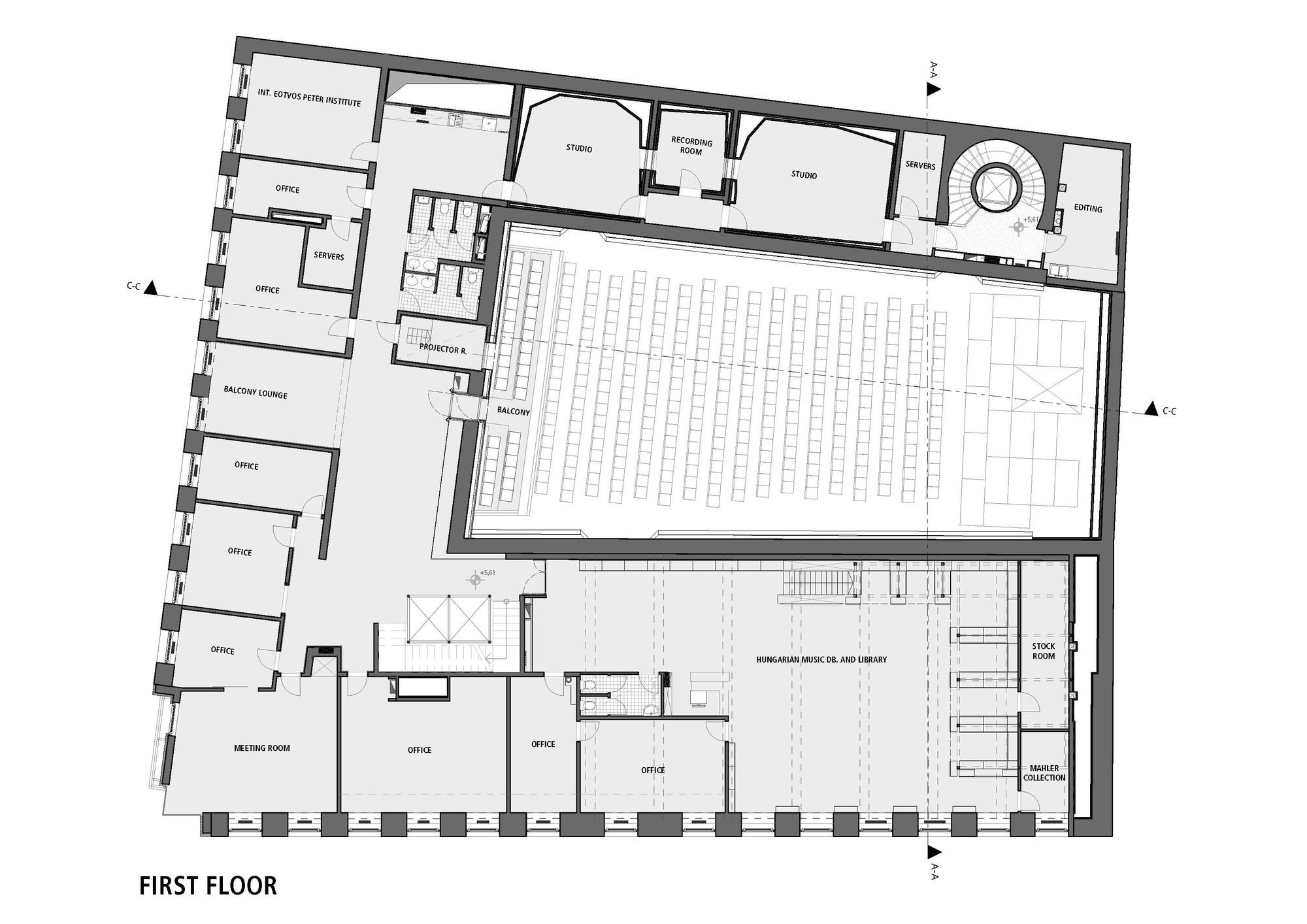Gallery Of Budapest Music Center / Art1st Design Studio