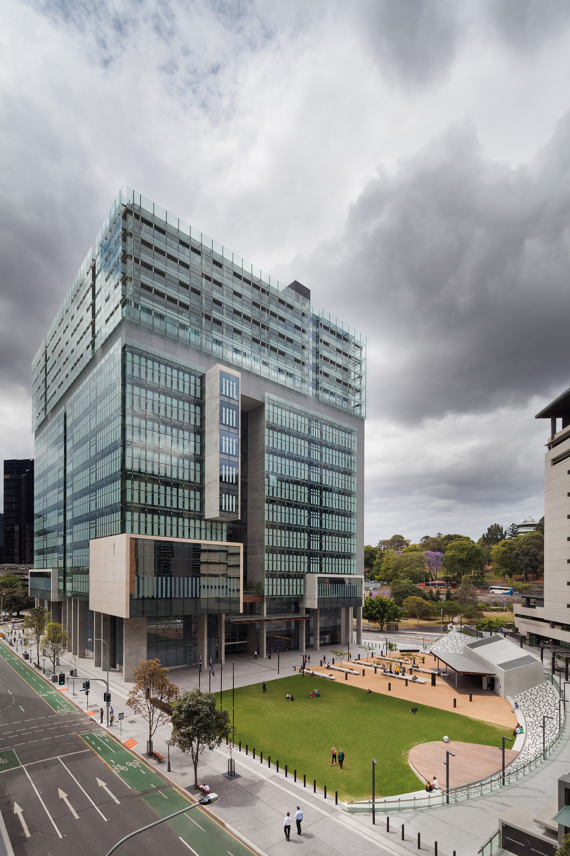 Queen Elizabeth II Courts of Law  Architectus  Guymer Bailey Architects  ArchDaily