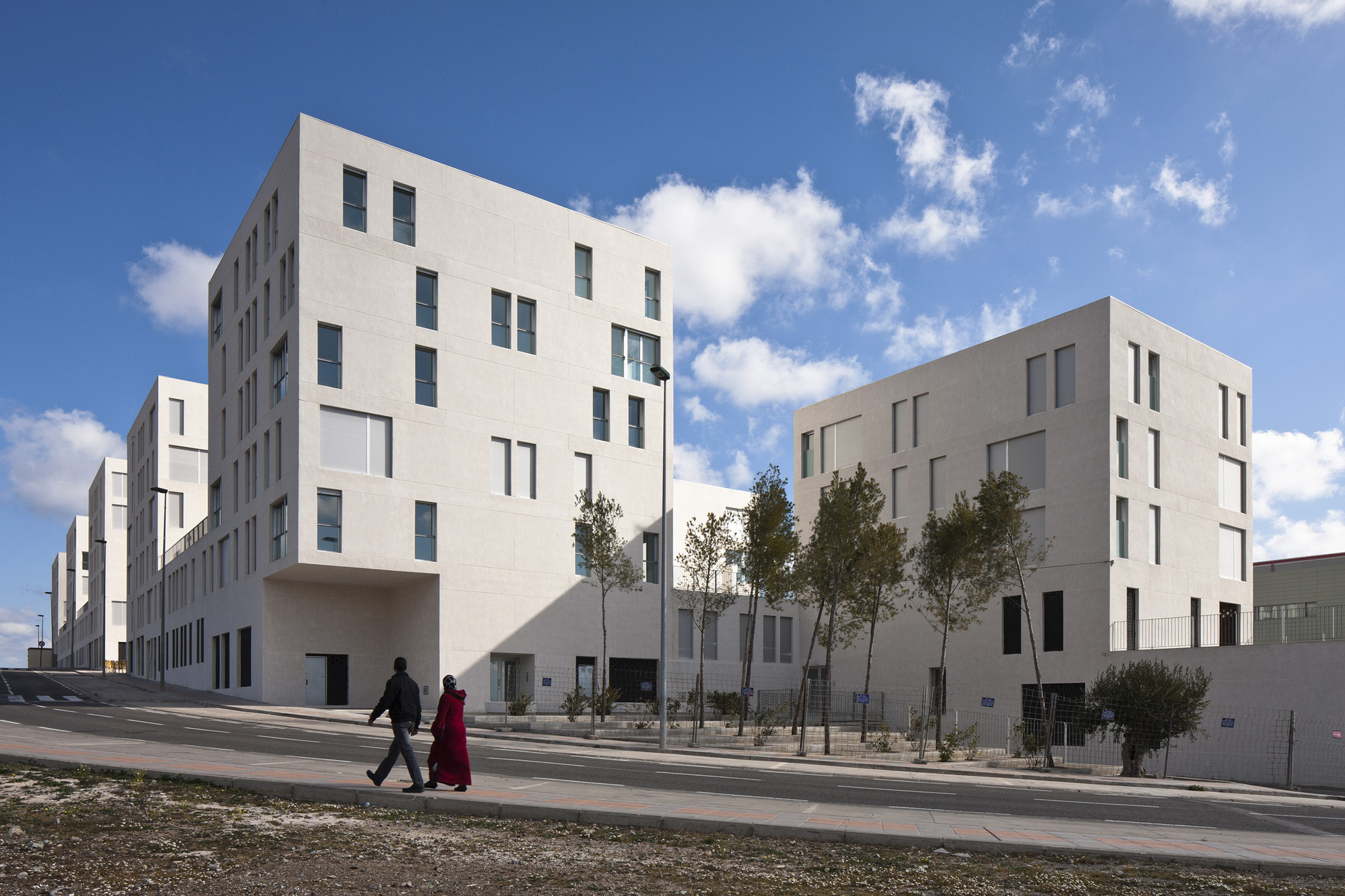 Social Housing In Ceuta IND Inter National Design ArchDaily