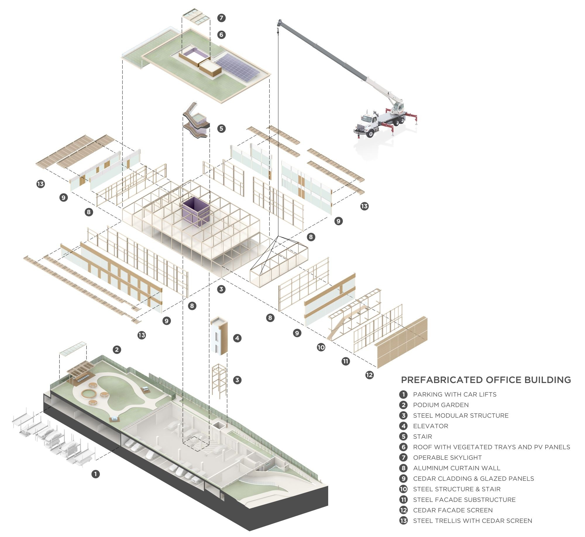 exploded axon diagram 99 ford explorer radio wiring gallery of venture capital office headquarters paul