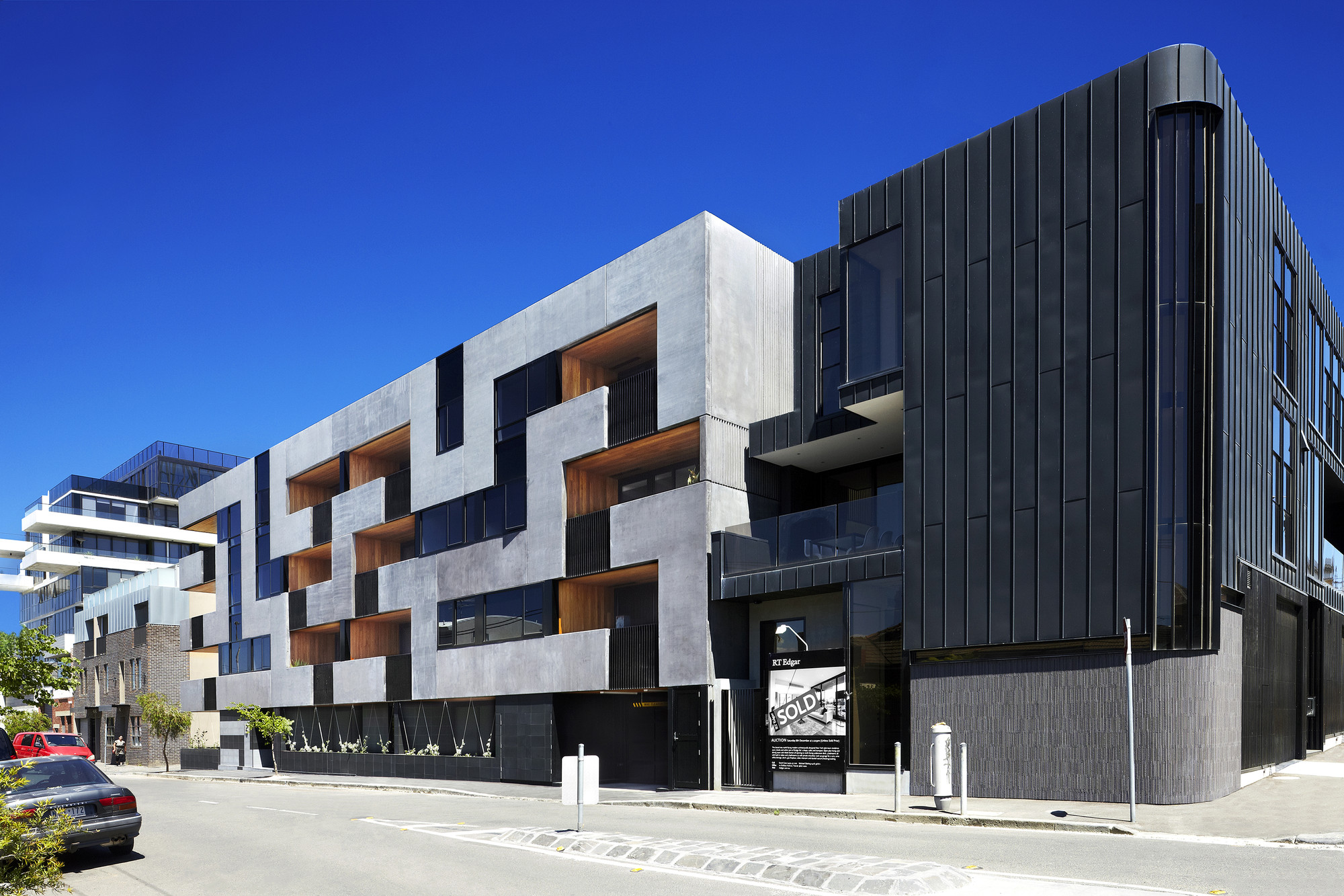 Maze Apartments Cht Architects Archdaily