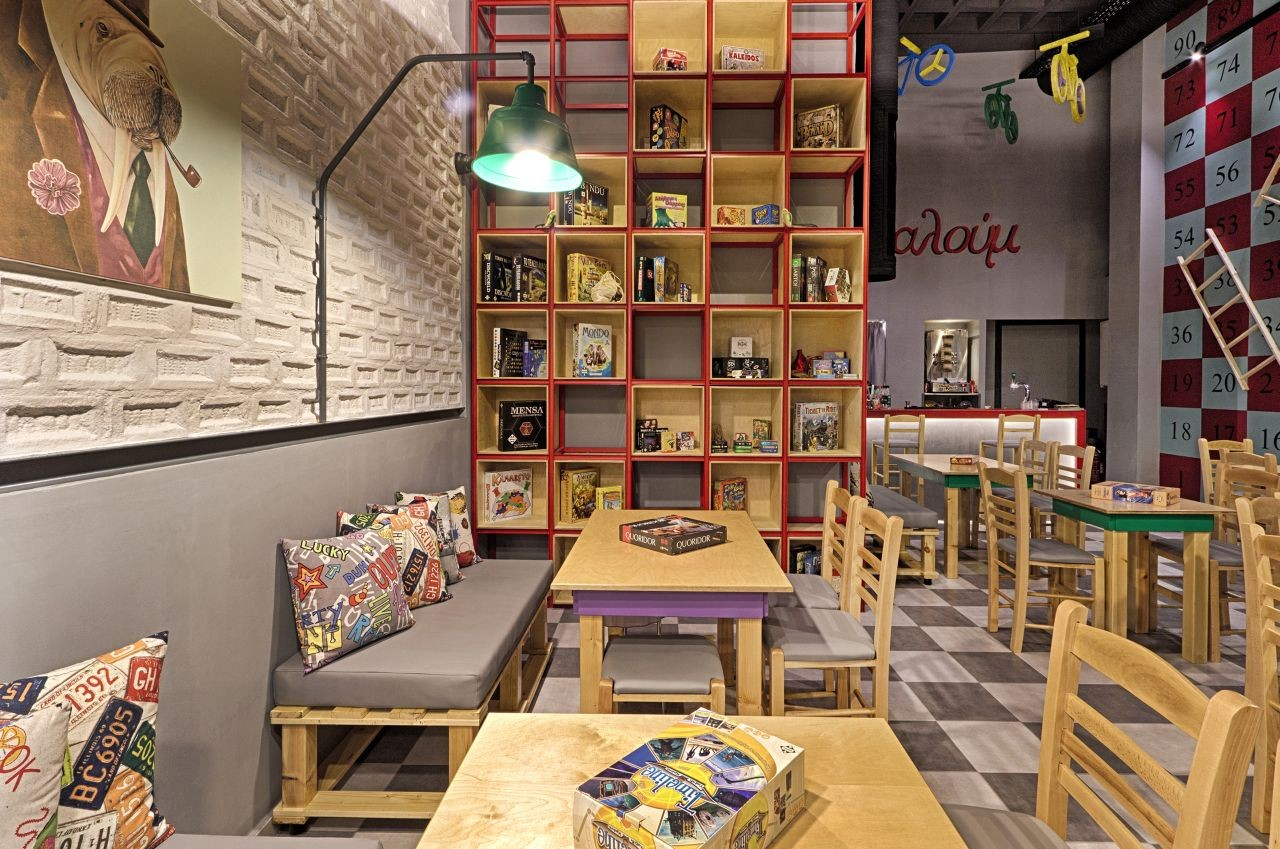Gallery of Alaloum Board Game Caf  Triopton Architects  4