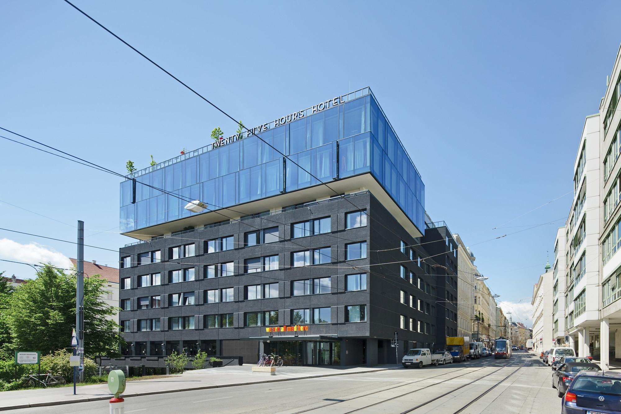 25hours Hotel Vienna Bwm Architekten Archdaily