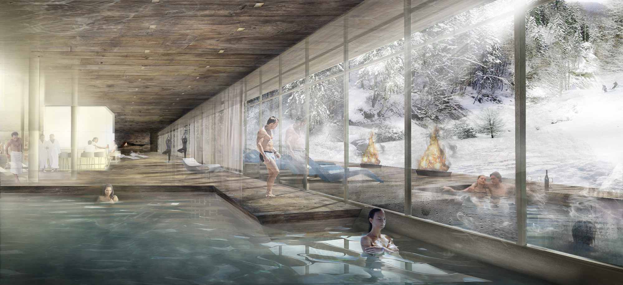 Graft Wins Competition Design Resort In Lofer Archdaily
