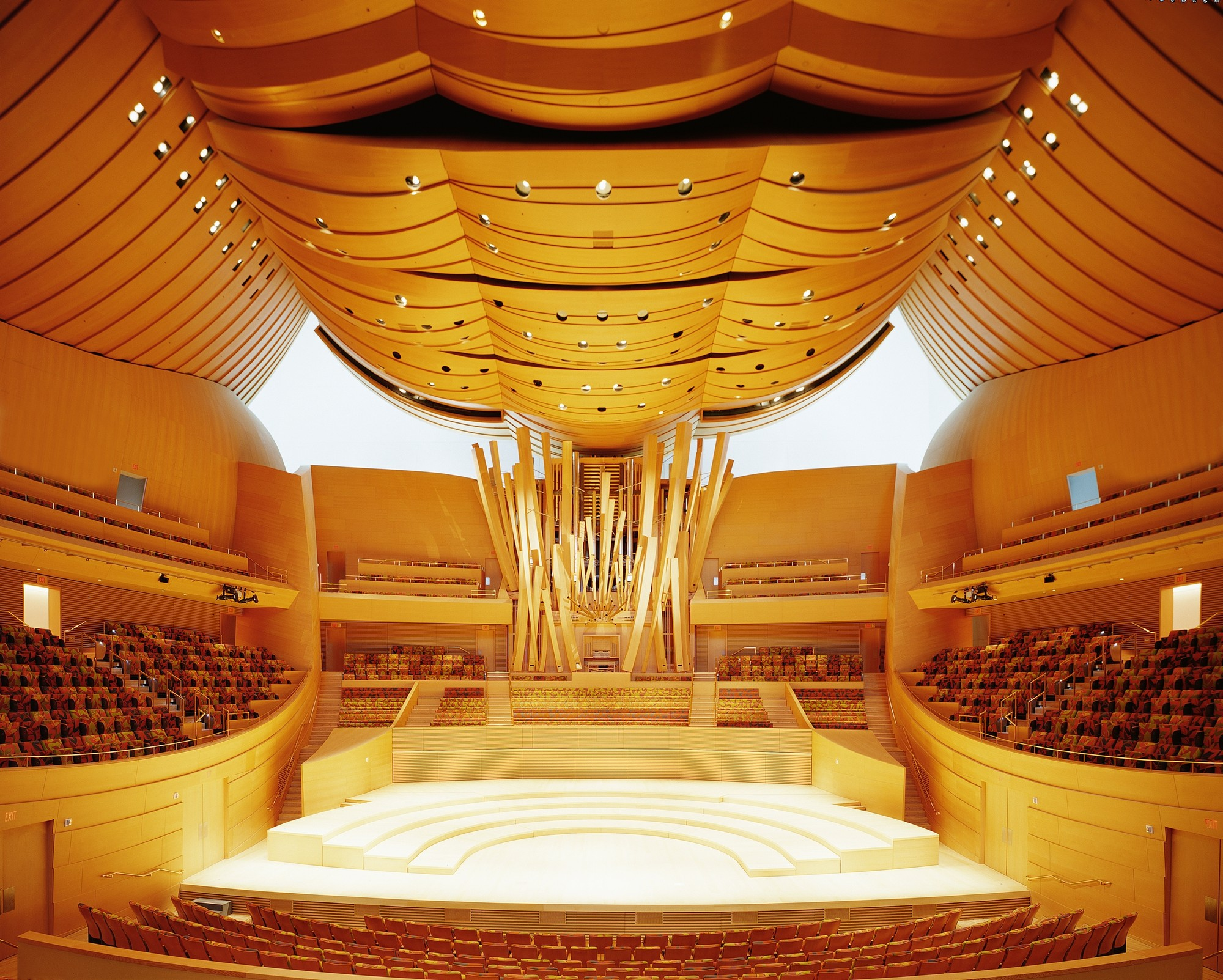Walt Disney Concert Hall Interior