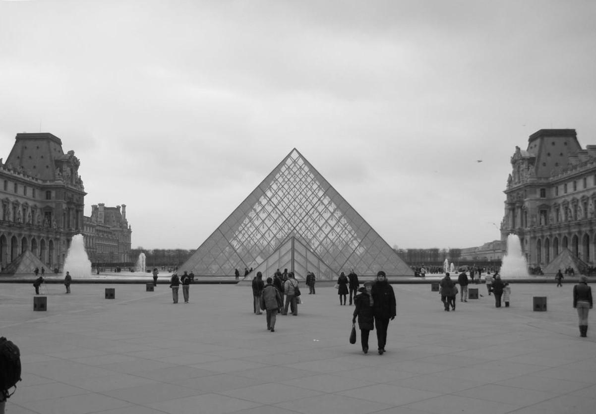 I.M. Pei Louvre