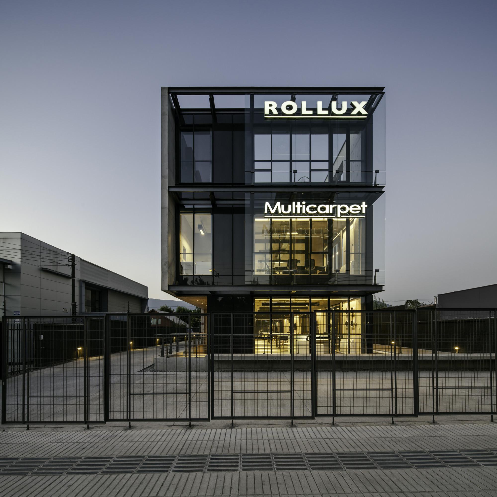 Multicarpet Rollux Showroom Arquitectos - 13