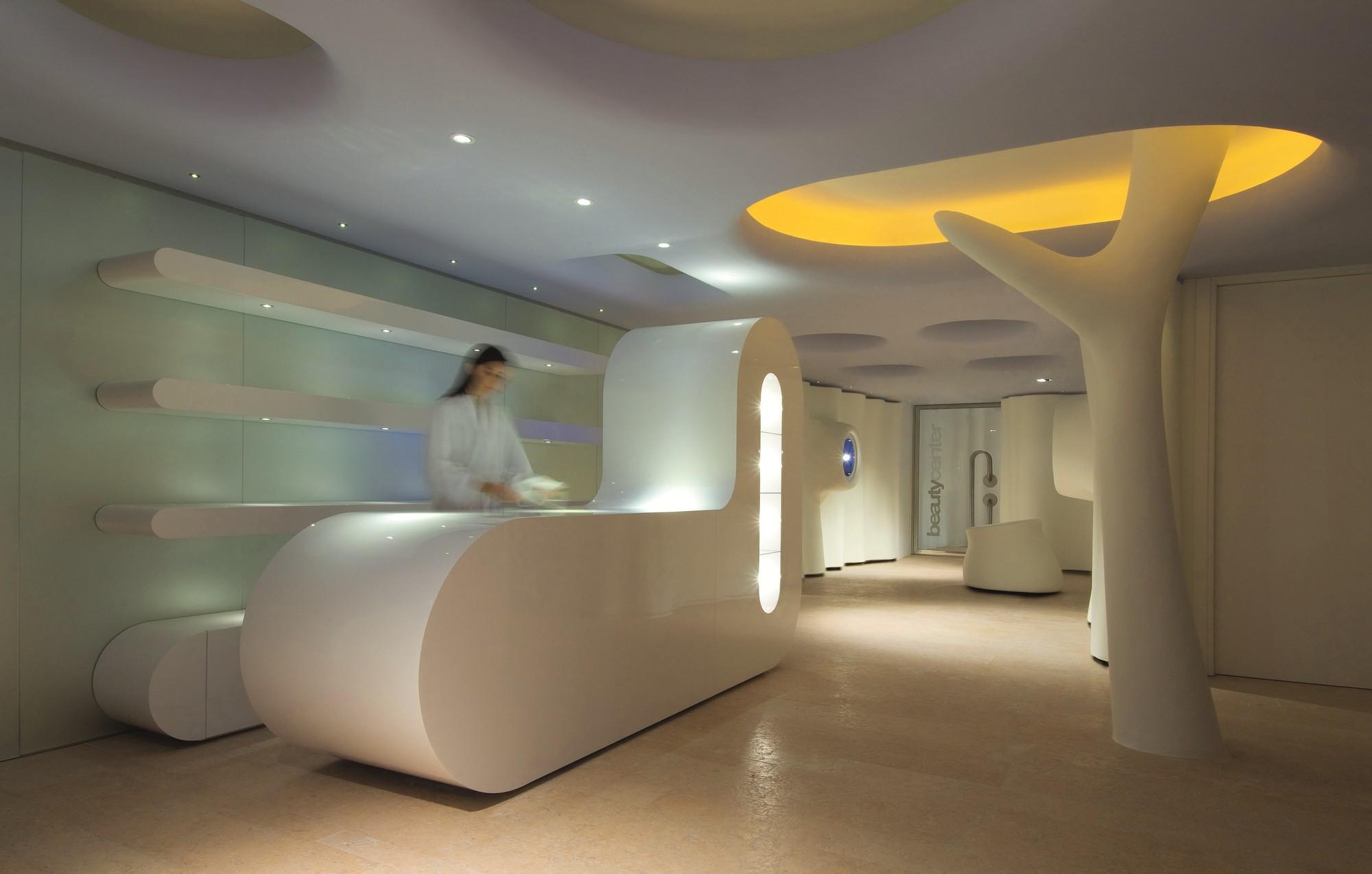 Spa Reception Interior Design