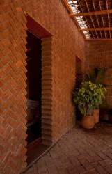 brick wall tabique casa arquitectura taller tac contextual