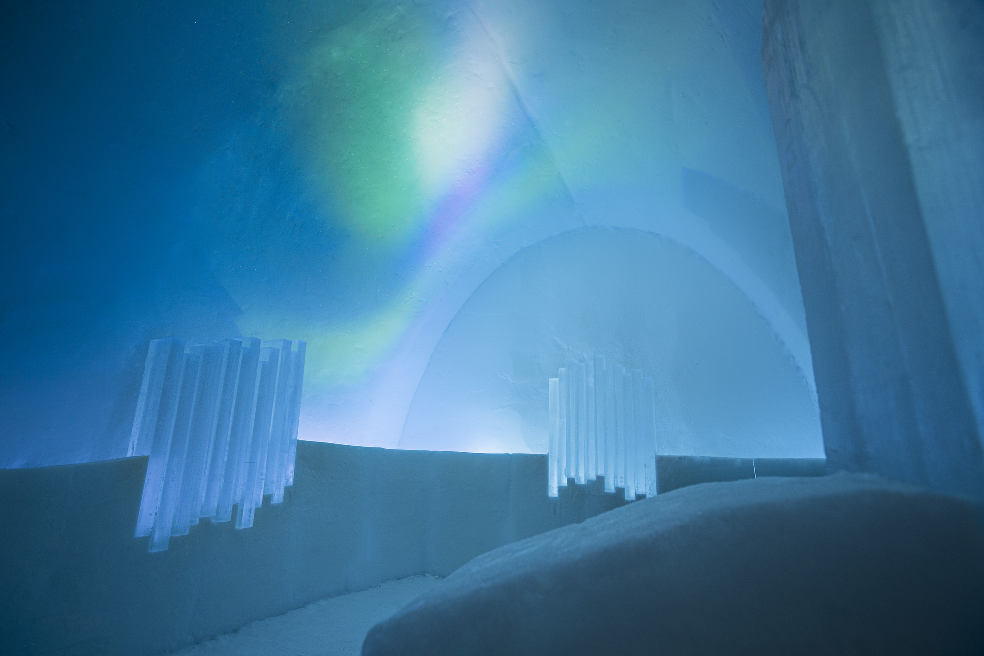 Place Chill Sweden' Ice Hotel Archdaily