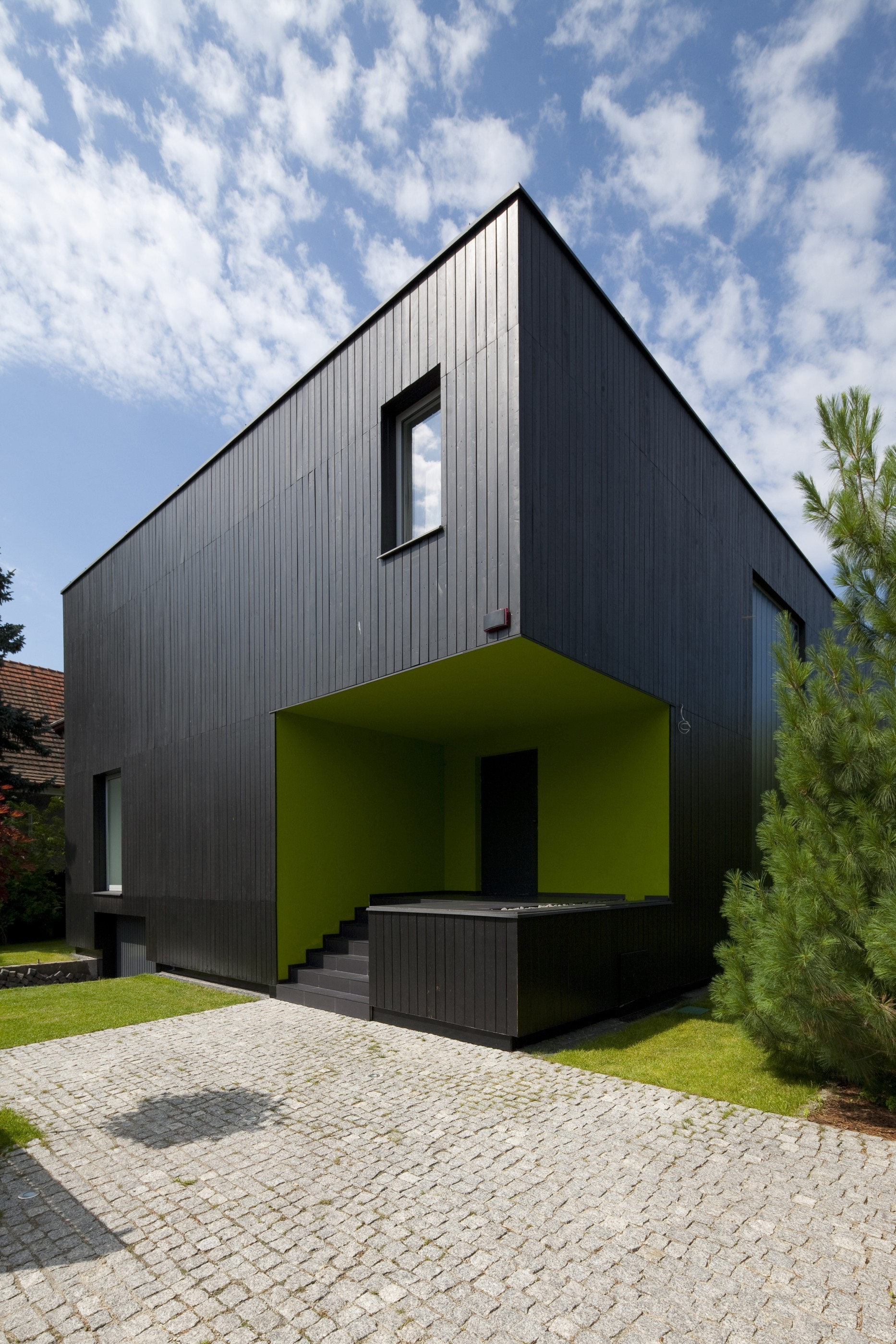 Black Cube House