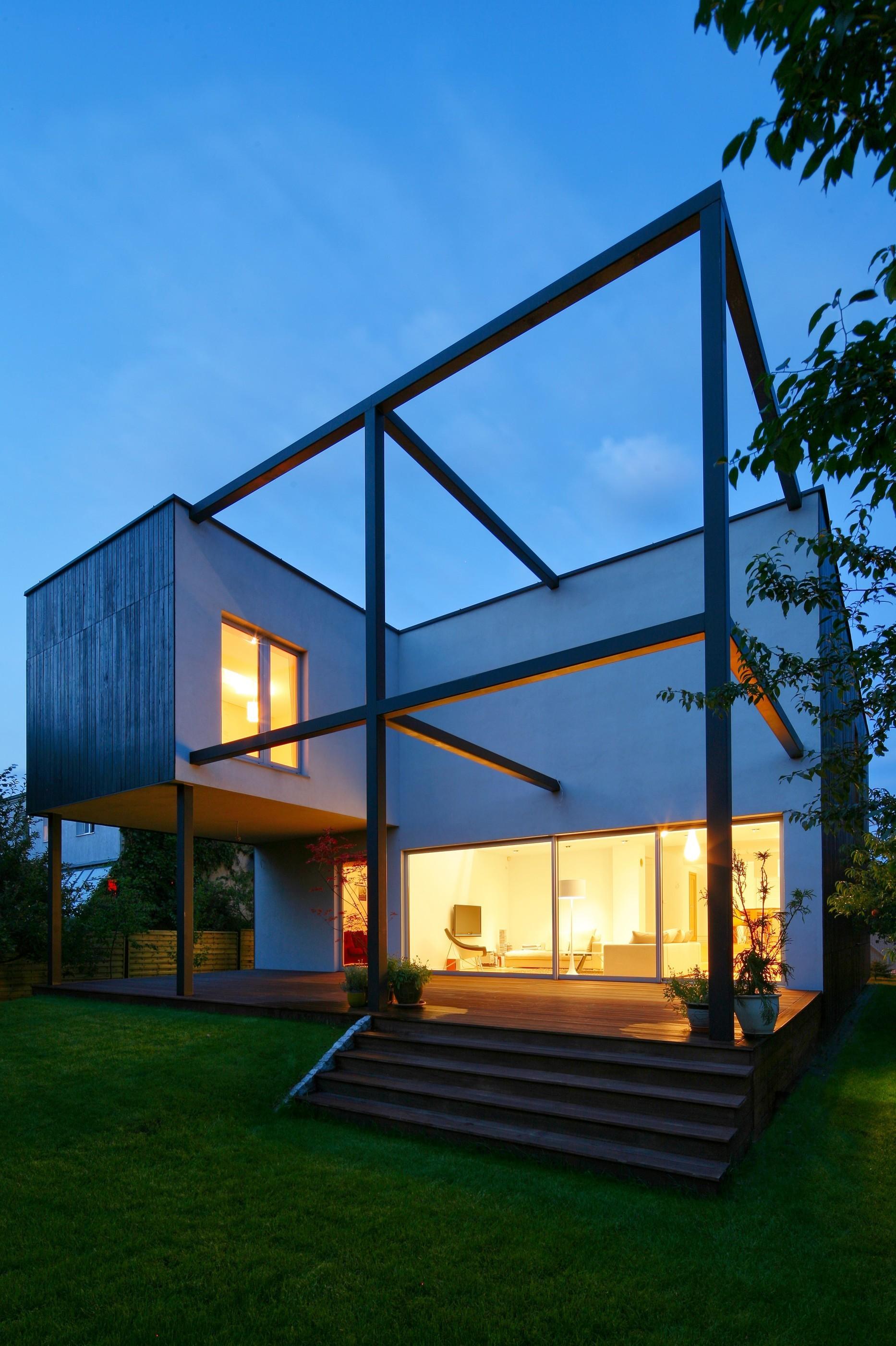 Black Cube House Kameleonlab - 8