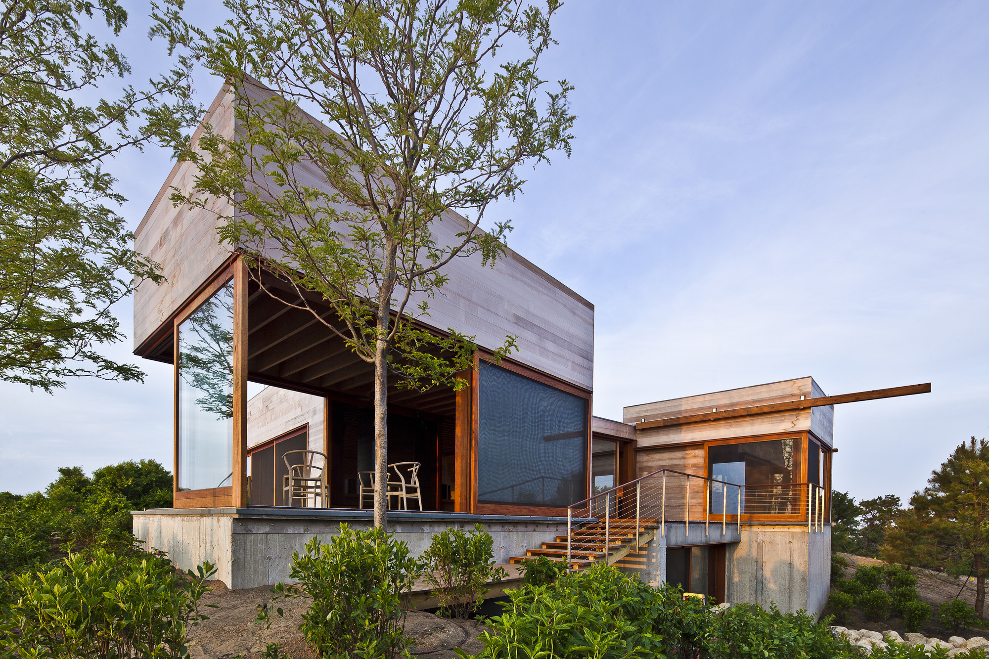 Island House Peter Rose Partners Archdaily