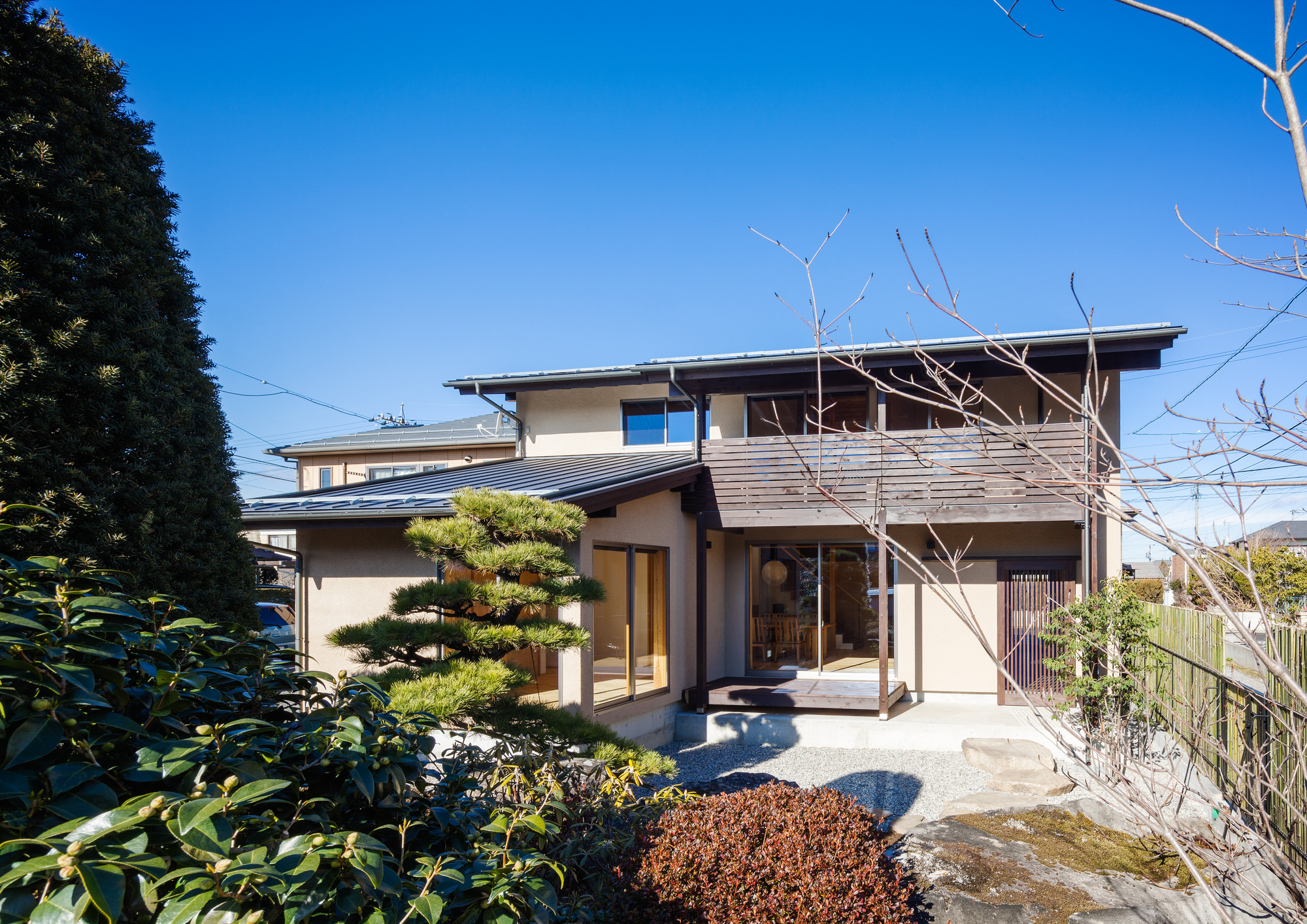 Modern Traditional Japanese House