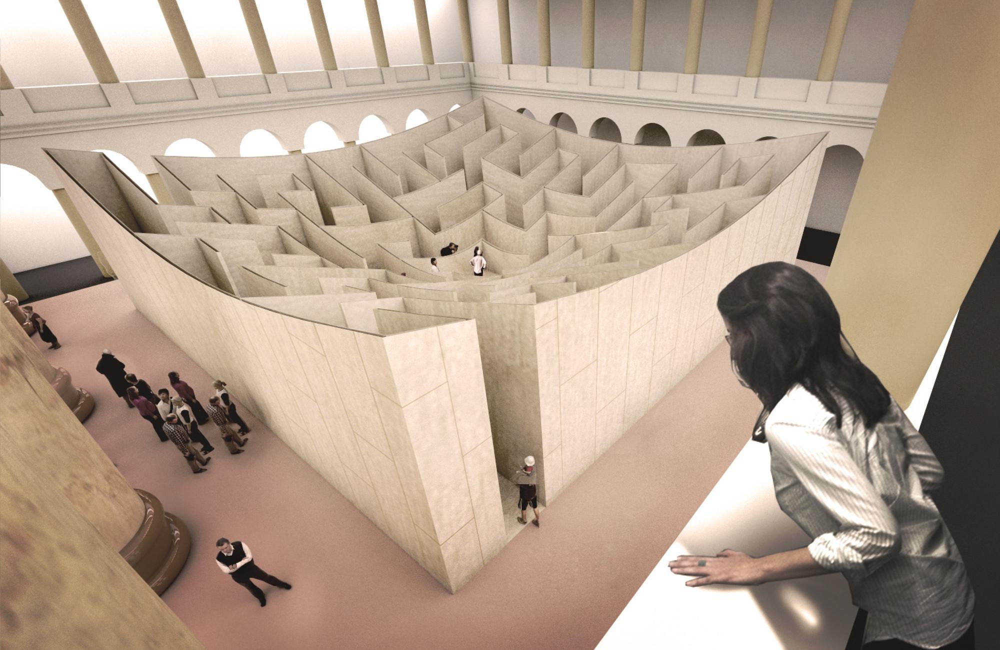 Big Design Labyrinth Atrium National