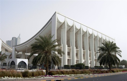 Kuwait National Assembly. Image © <a href='https://www.flickr.com/photos/xiquinho/3447464666/'>Flickr user xiquinho</a> licensed under <a href='https://creativecommons.org/licenses/by-sa/2.0/'>CC BY-SA 2.0</a>