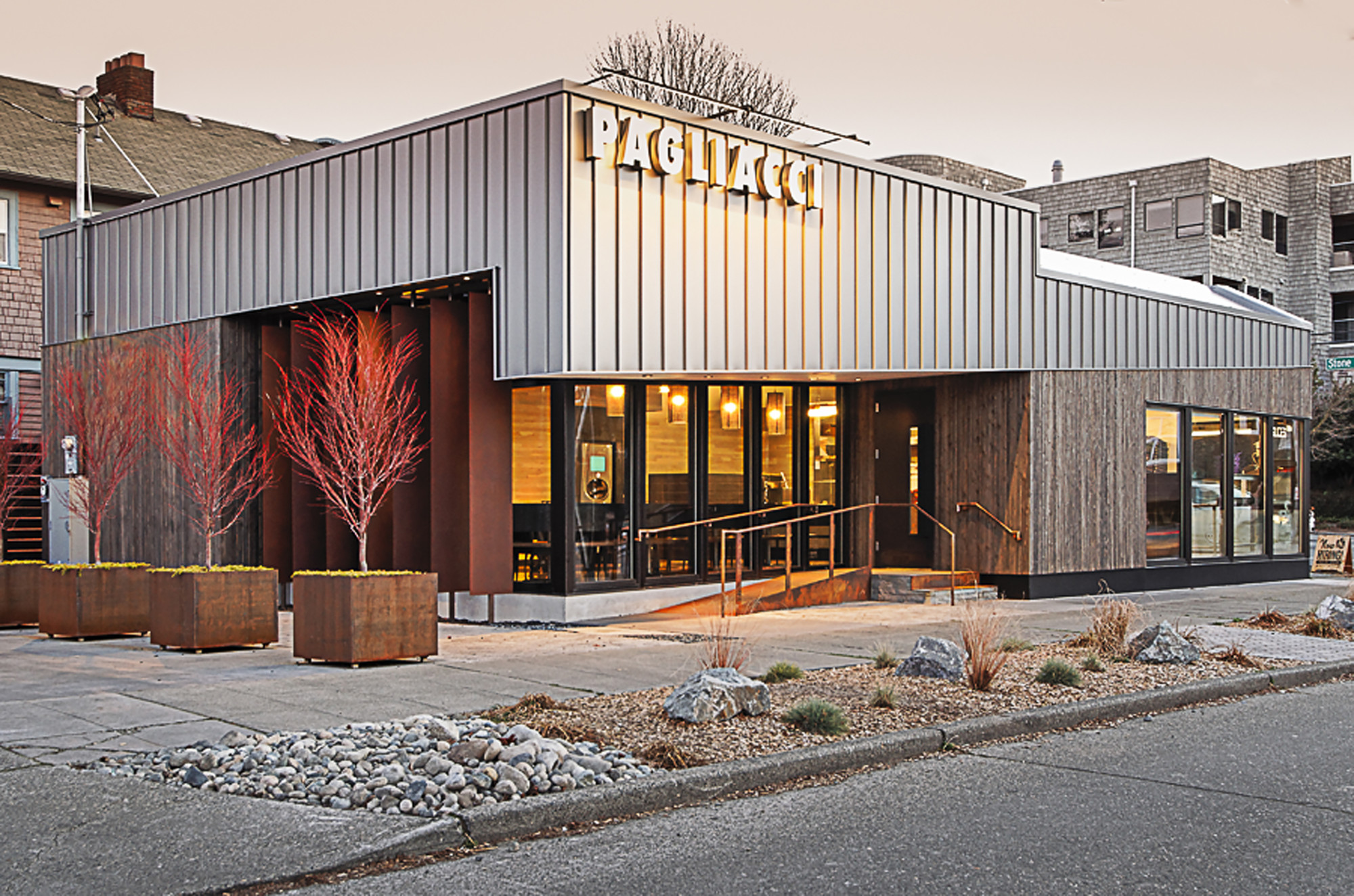 Pagliacci Pizza Floisand Studio Archdaily
