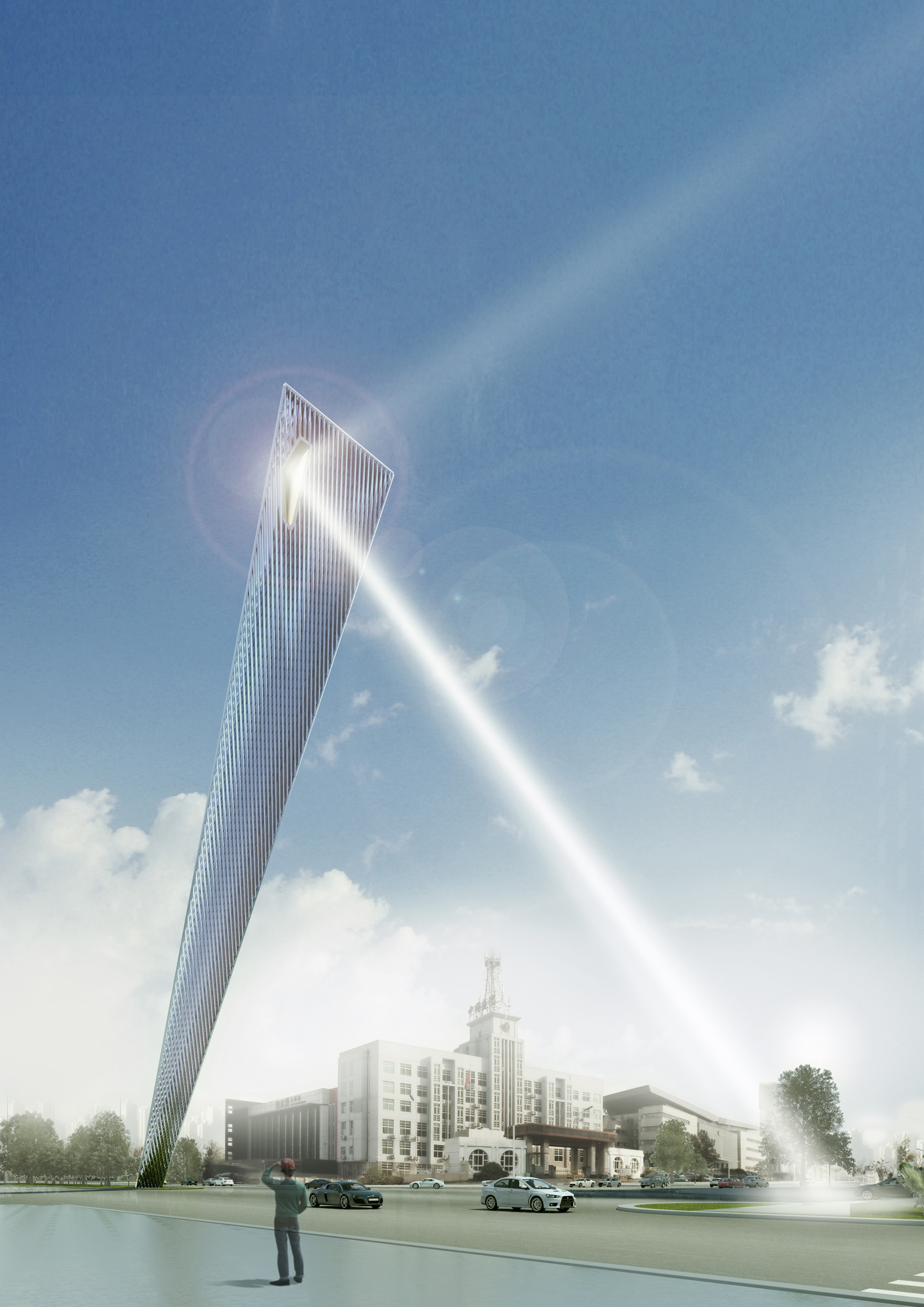 Rafael de LaHoz Unveils TEDA Monument in Tianjin  ArchDaily