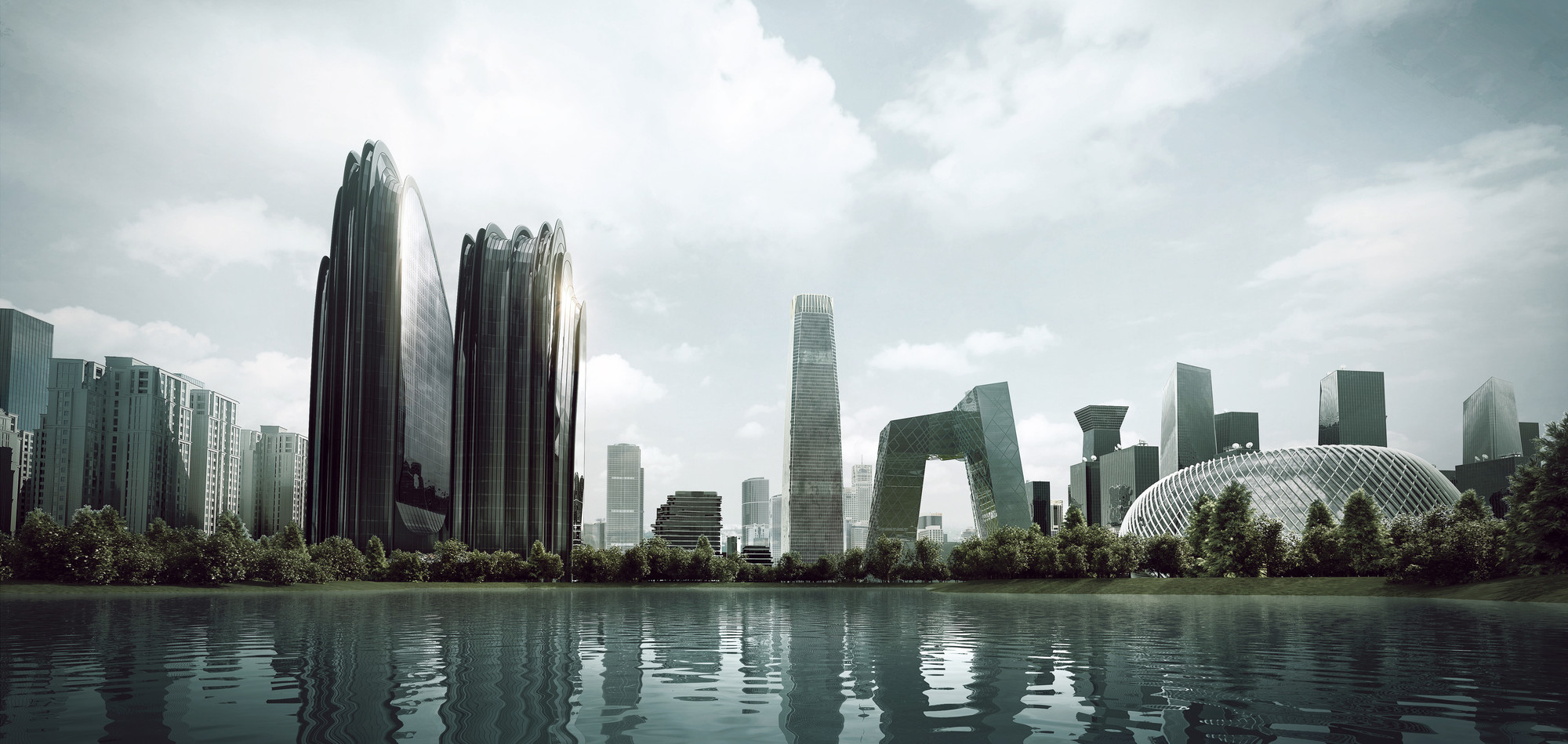 Mad Breaks Ground Complex Redefines Beijing City Landscape Archdaily