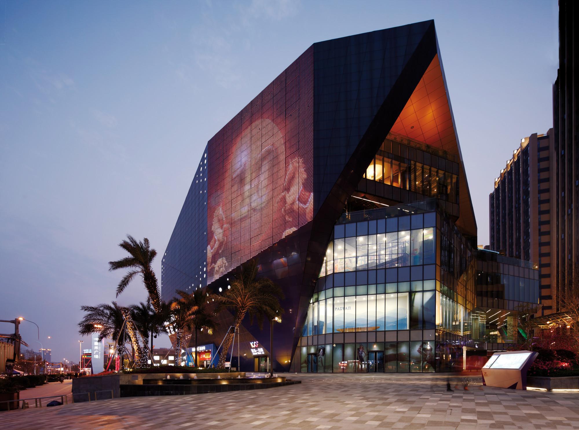 Fuzhou Wusibei Thaihot Plaza Spark Architects