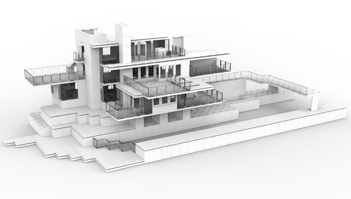 Frank Lloyd Wright Falling Water Wallpaper Gallery Of Win Your Very Own Arckit A Freeform Model